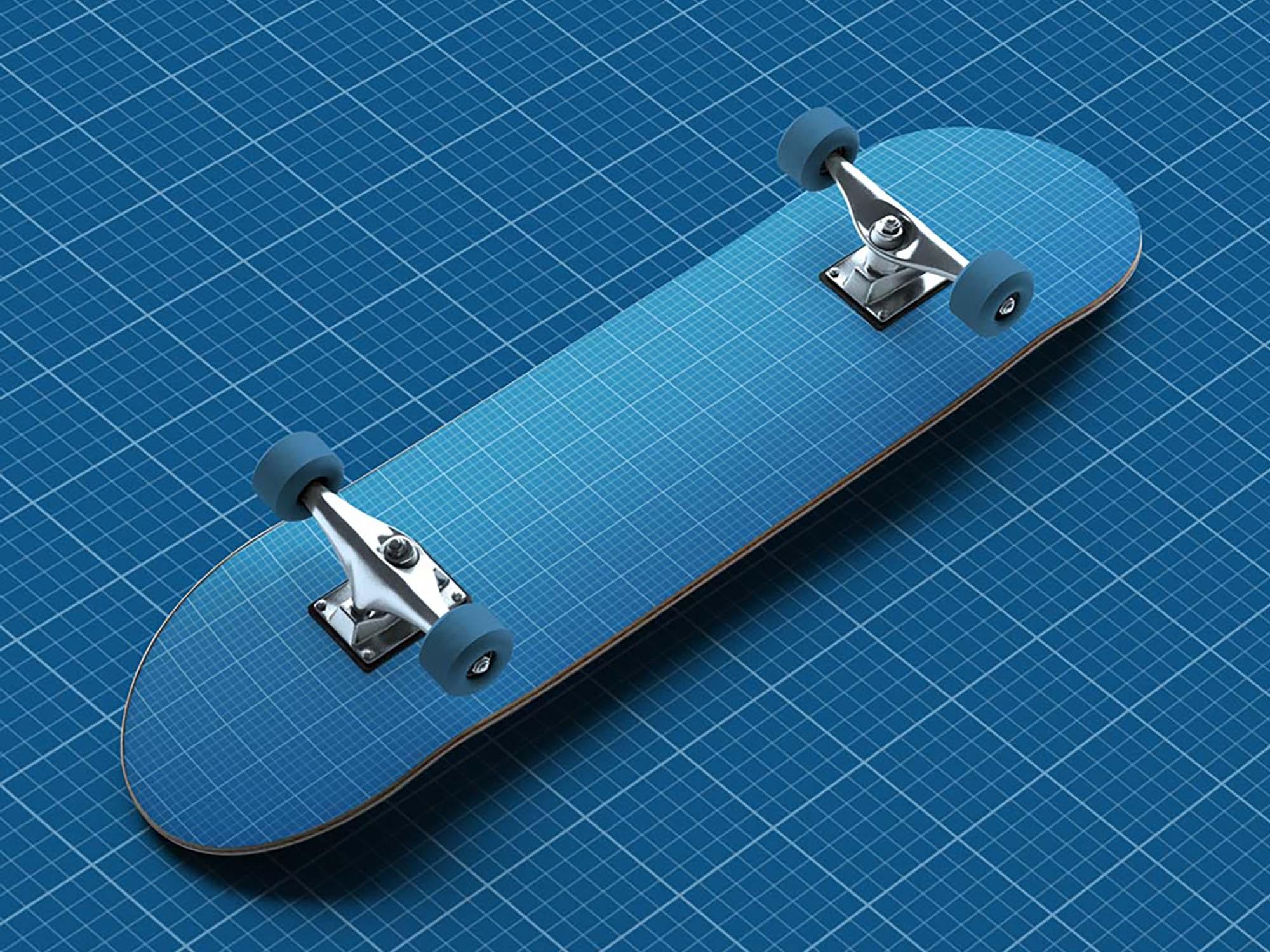 Skateboard Mockup 2