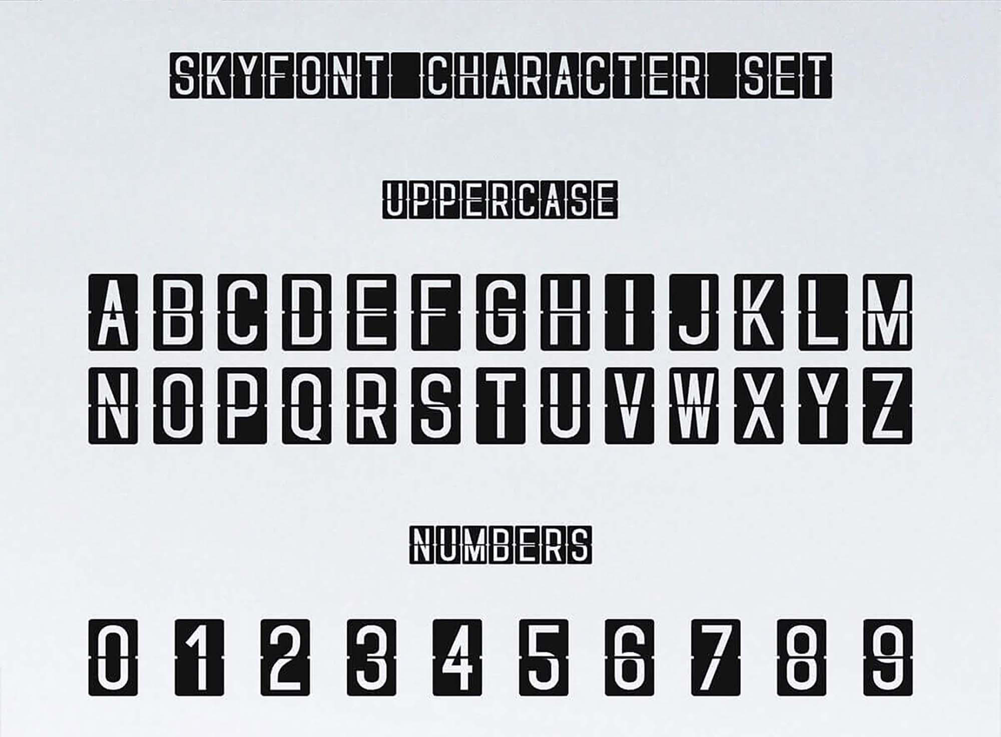 Skyfont Sans Serif 1