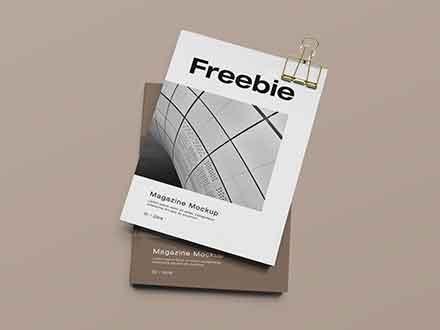 Smart Magazine Mockup