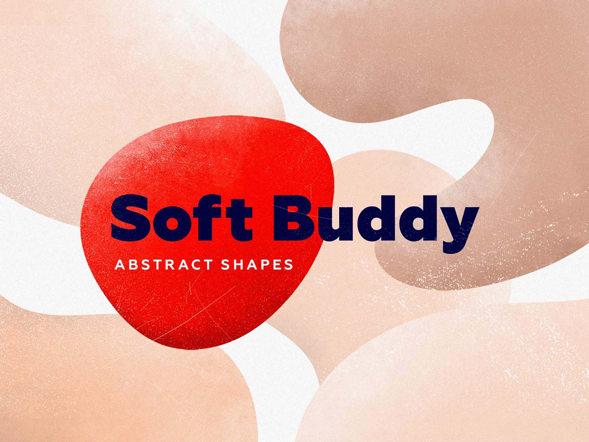 Soft Buddy Abstract Shapes