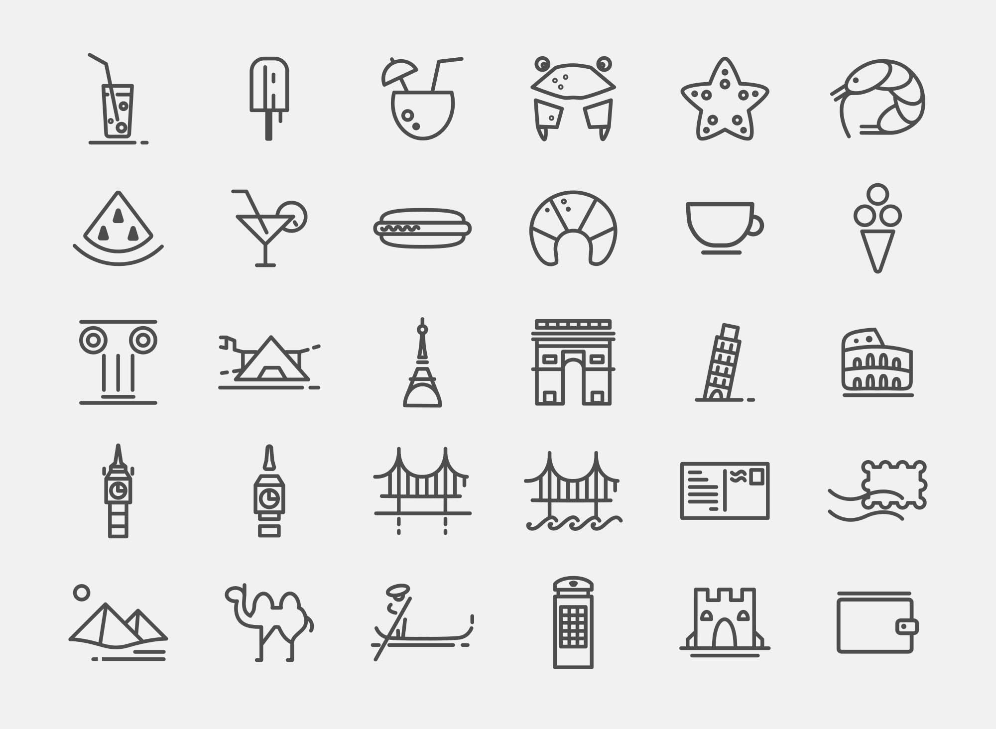 Traveling Icons 2