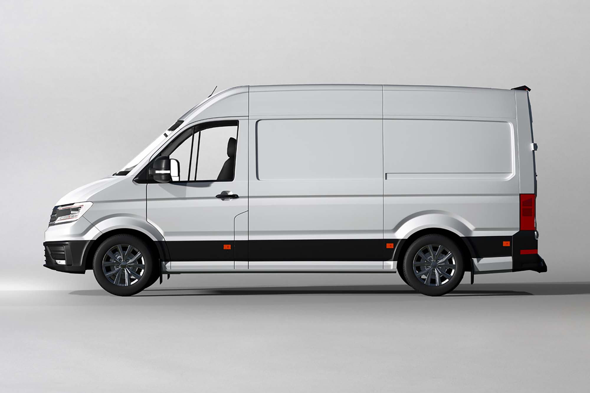 Vinyl Van Wrapping Mockup 2