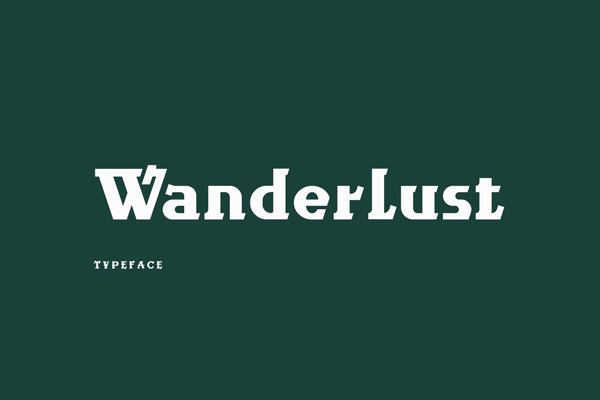 Wanderlust Font