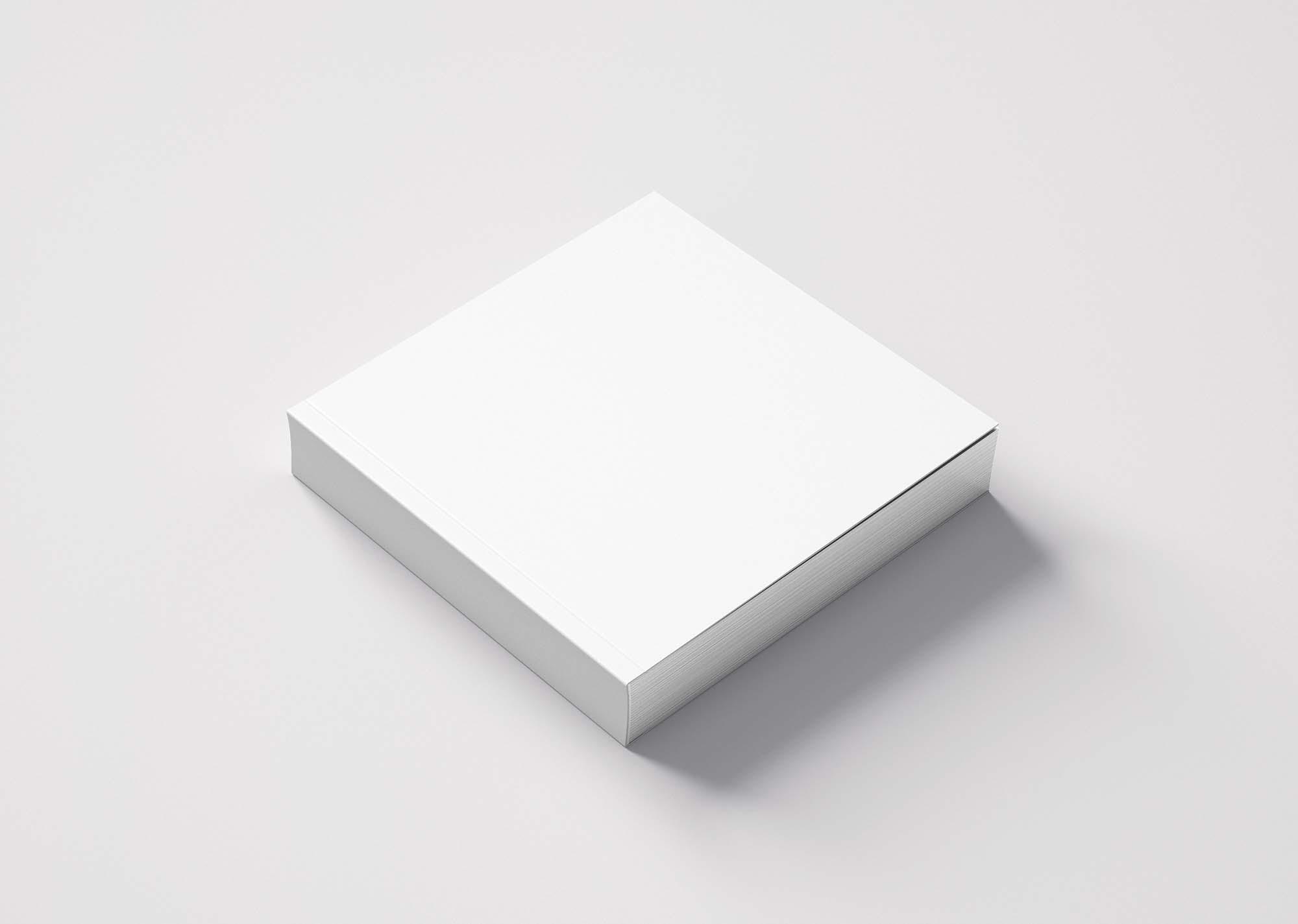 White Thin Small Box Mockup 2
