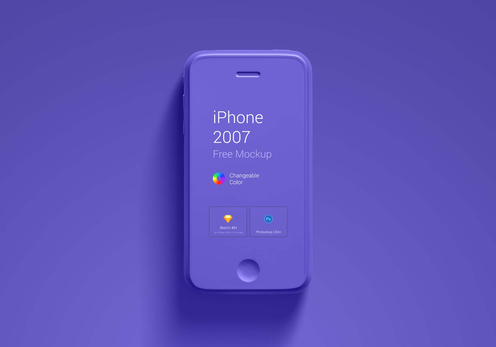 iPhone First Generation Mockup 2