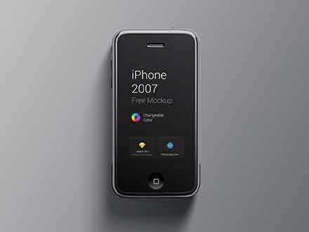 iPhone First Generation Mockup
