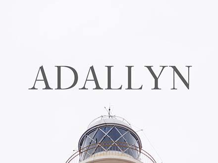 Adallyn Serif Font