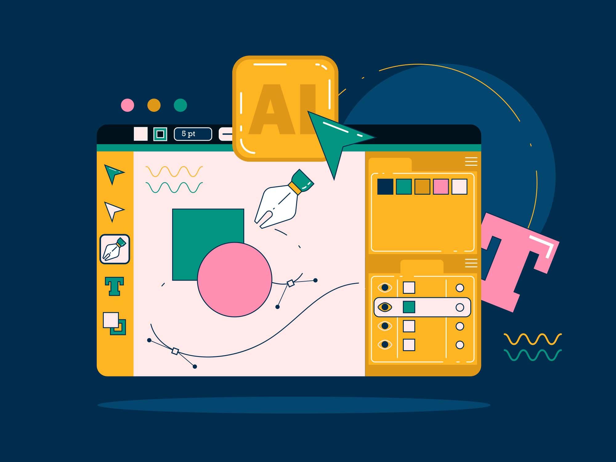 Adobe Illustrator Workspace 2