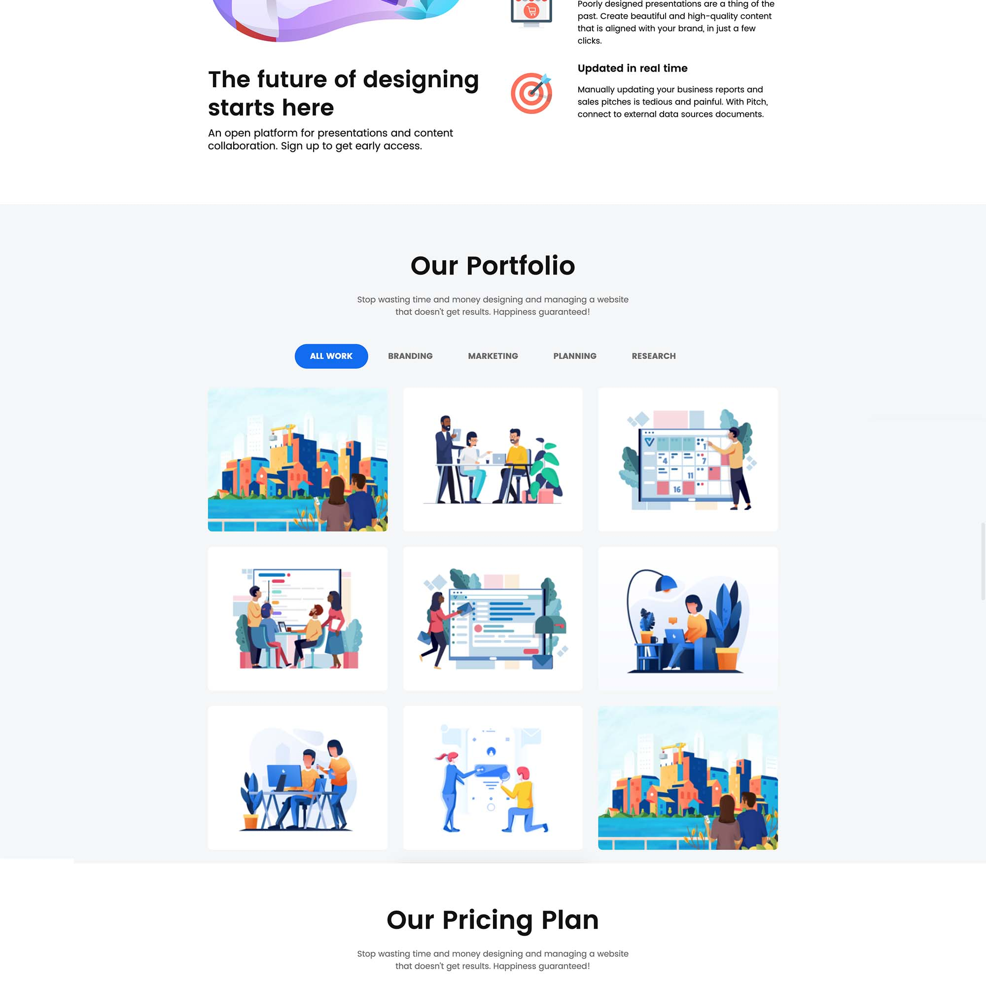 Agency Landing Page 2