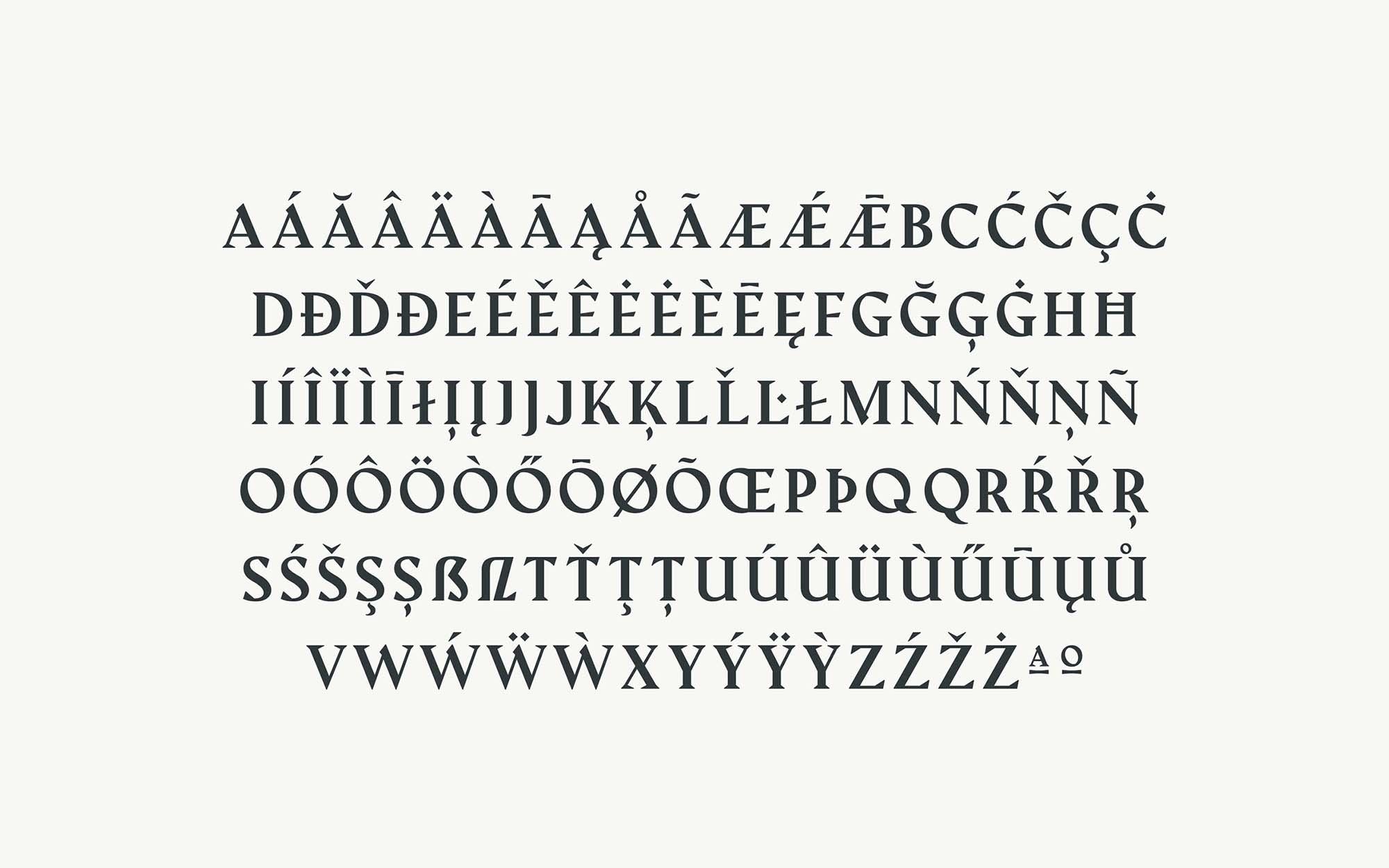 Amagro Typeface 4