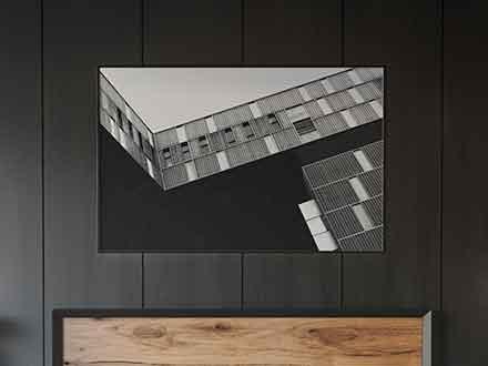 Bedroom Poster Mockup