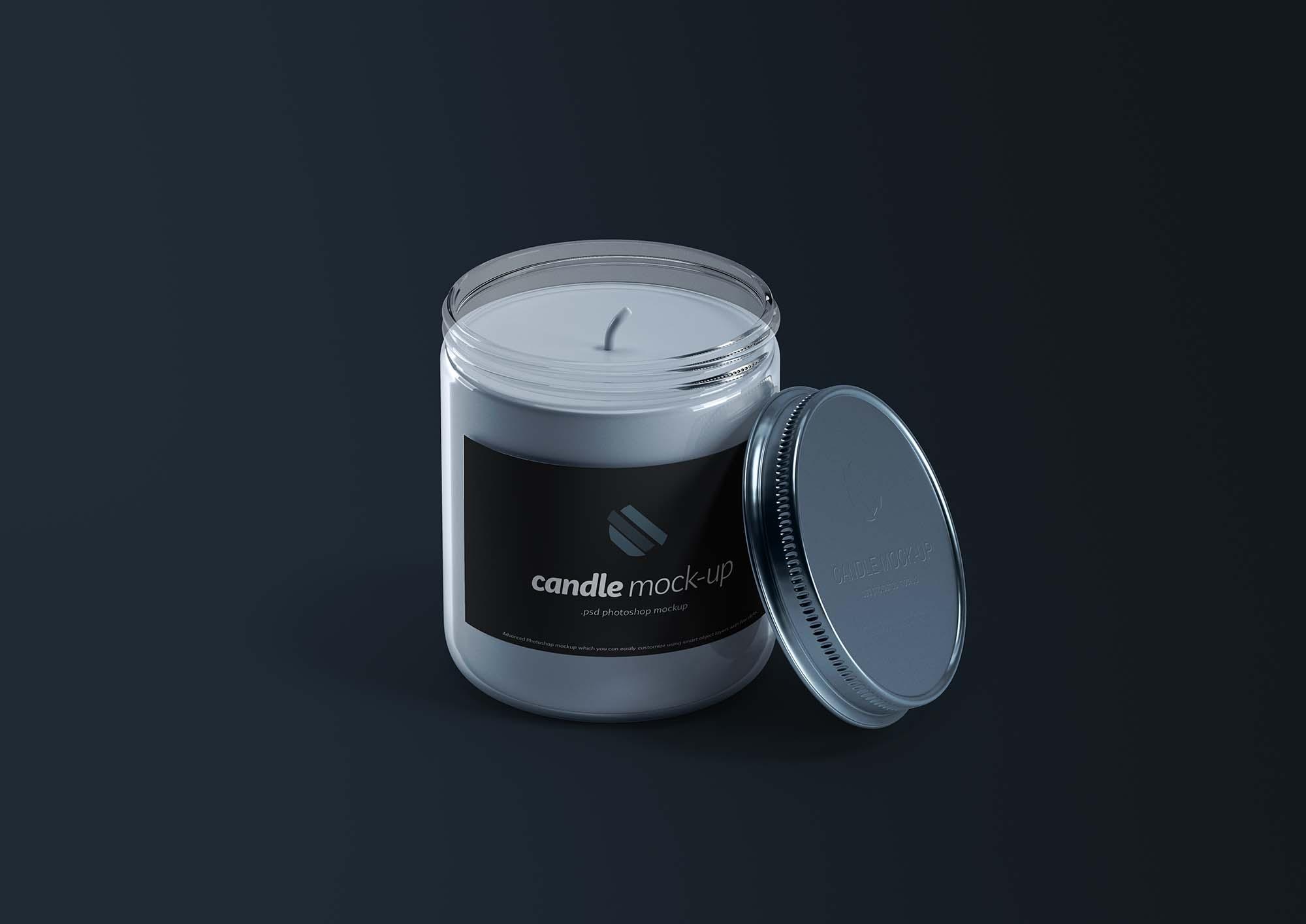 Branded Candle Mockup 2