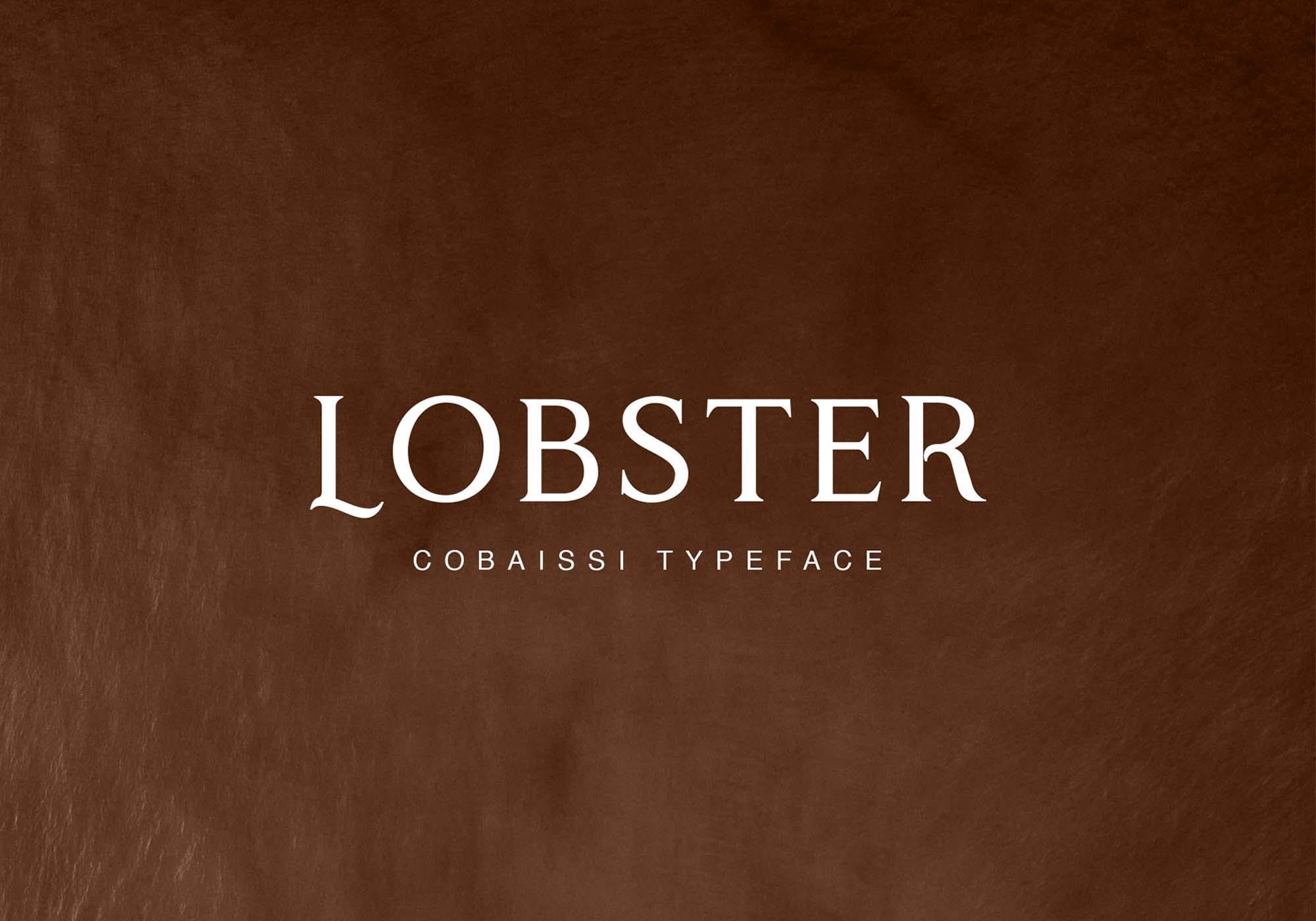 Cobaissi Serif Typeface 1