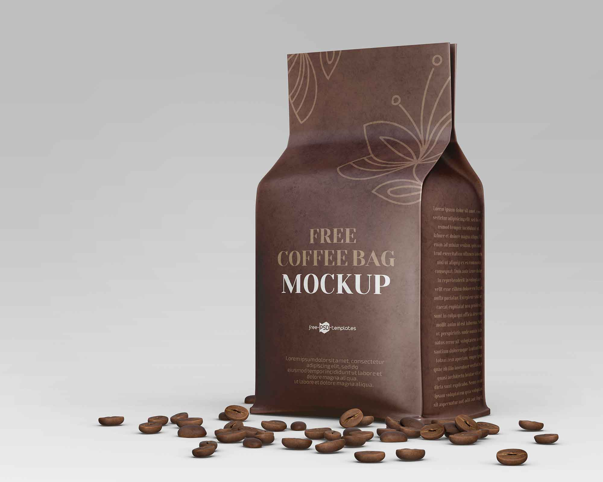 Coffee Bag Mockup 2