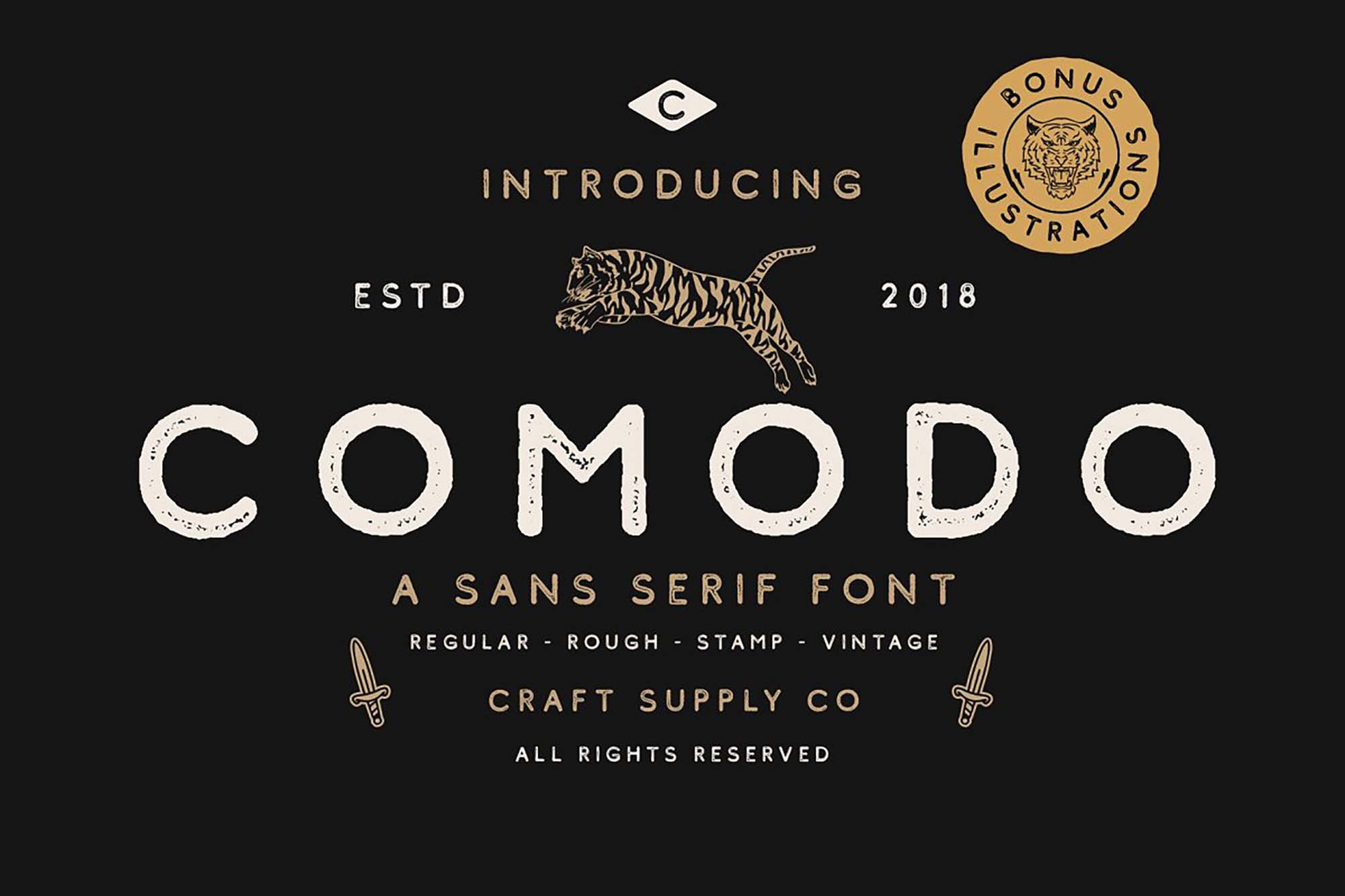 Comodo Sans Serif Font
