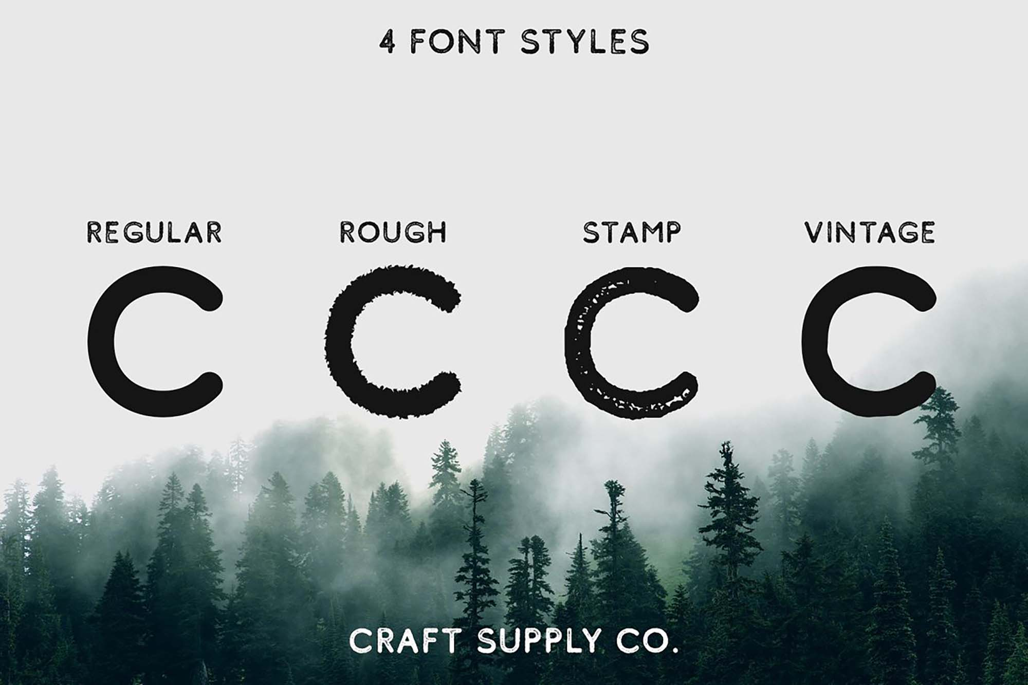 Comodo Sans Serif Font Styles