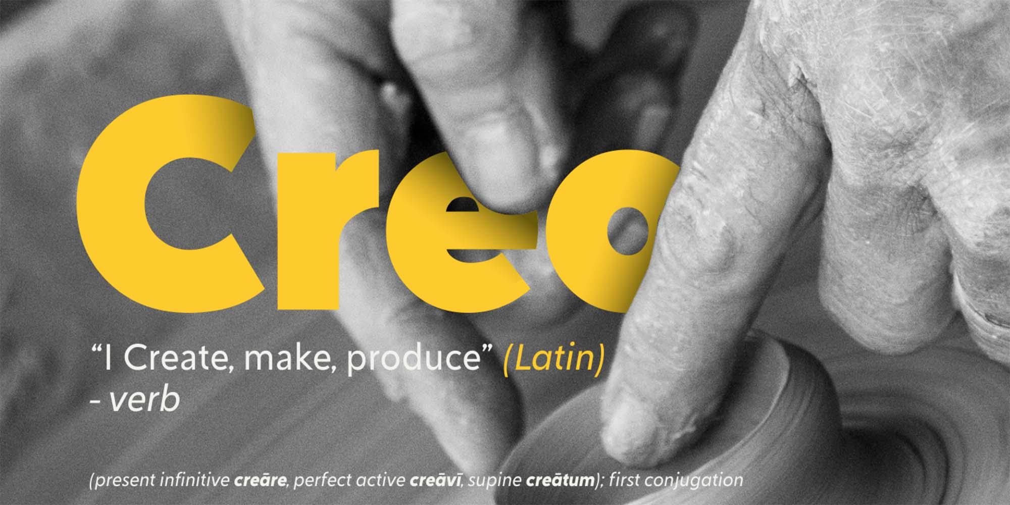 Creo Sans Font Family 7