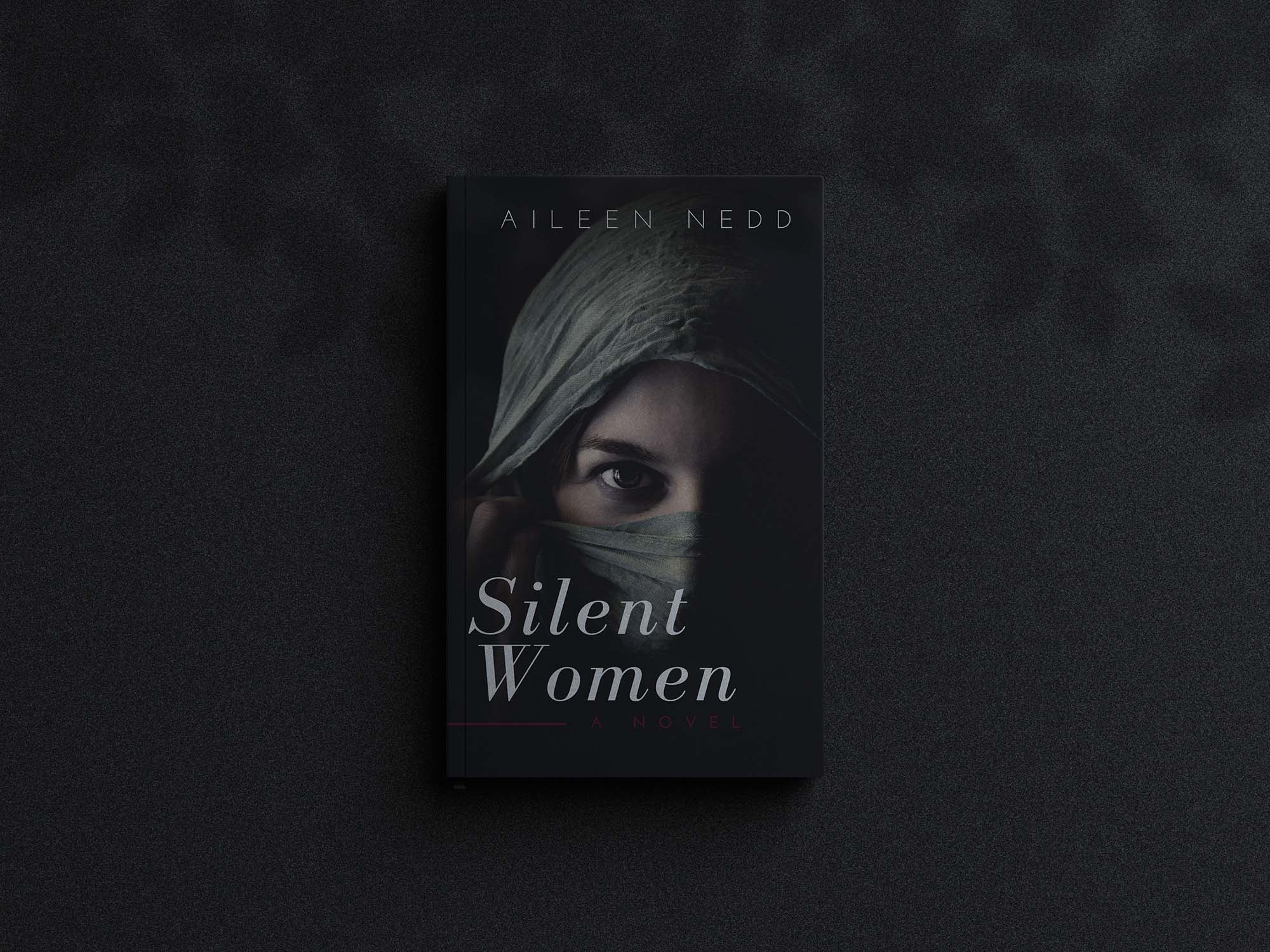 Dark Book Cover Mockup
