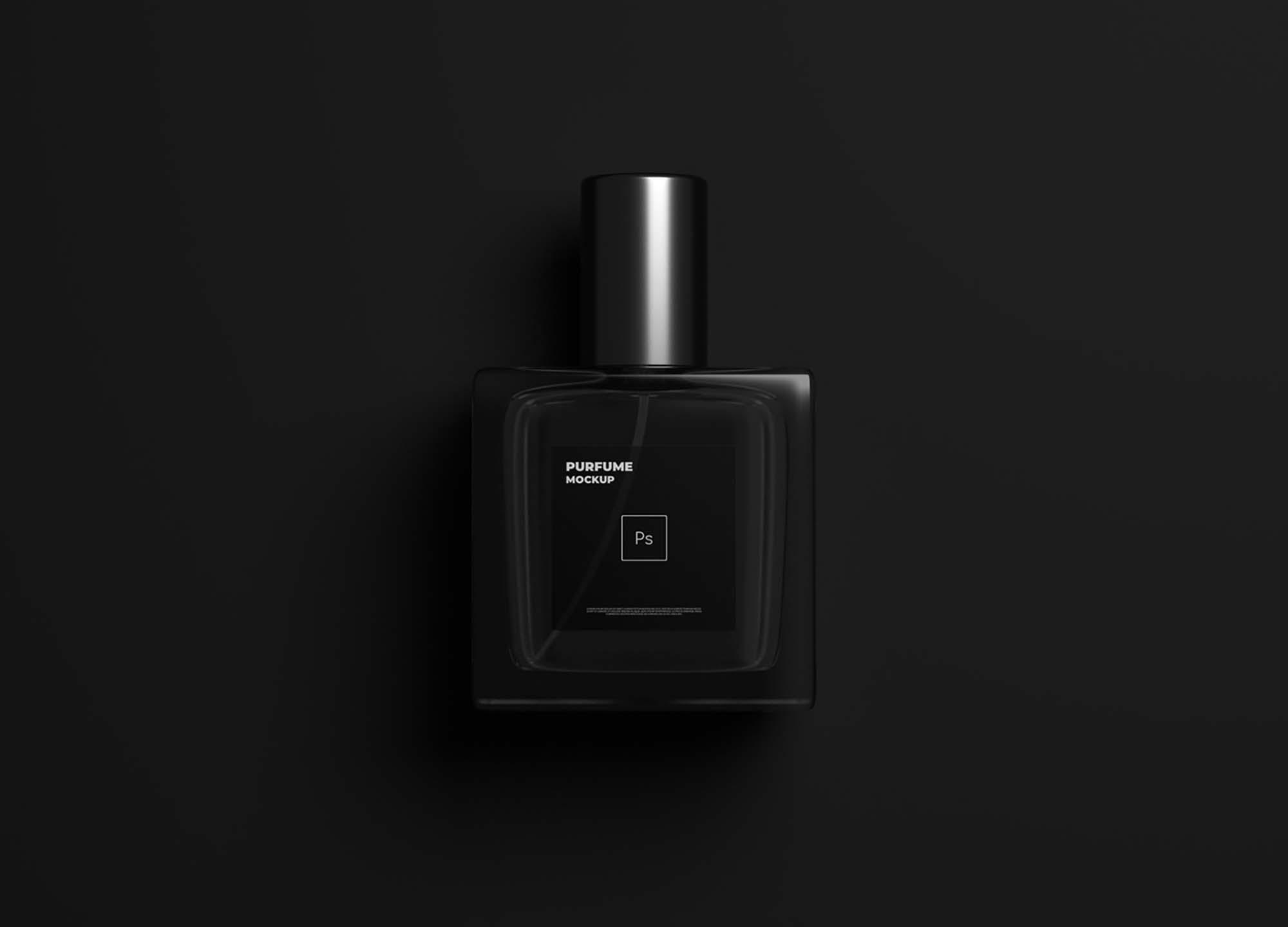 Dark Perfume Mockup