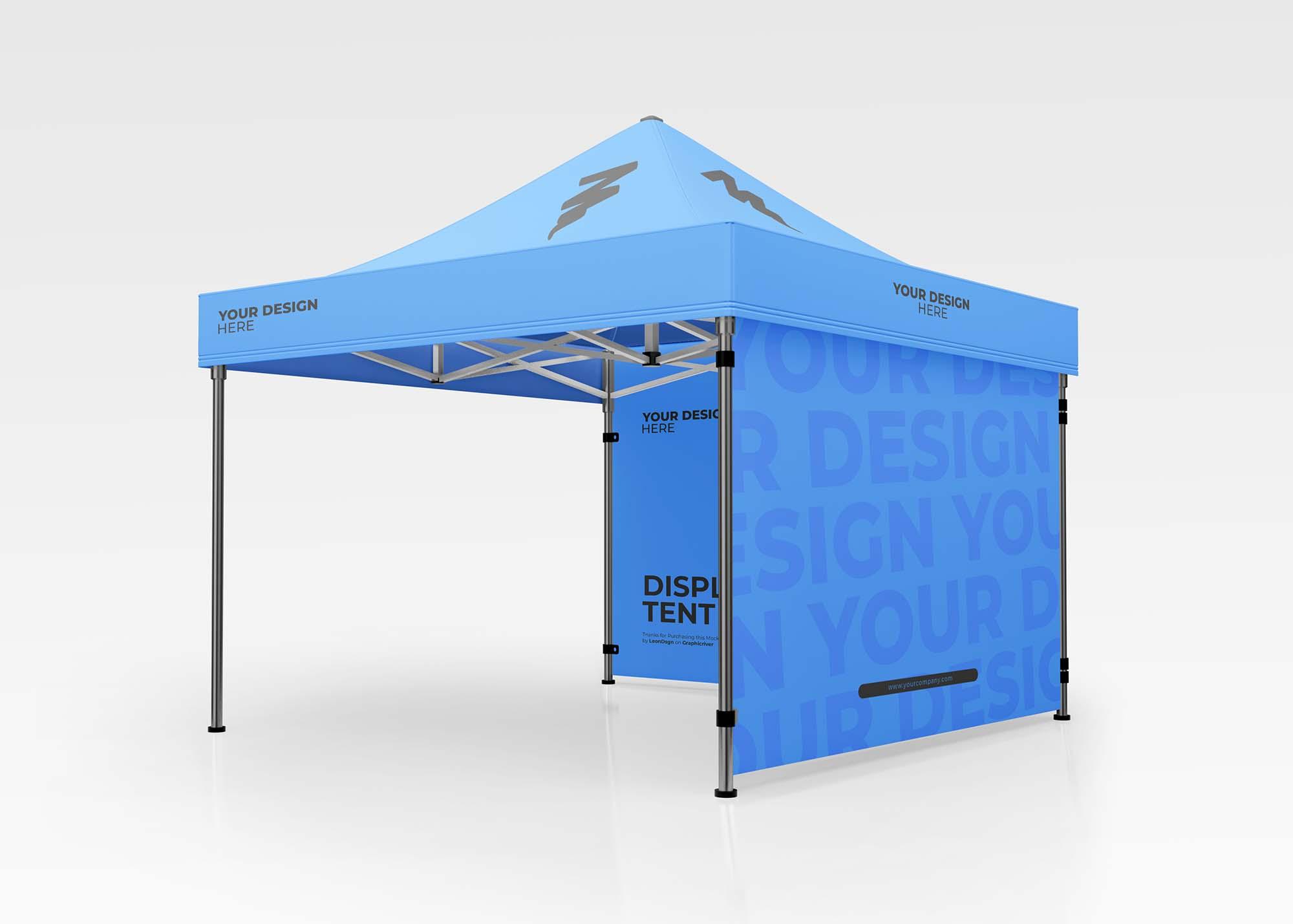 Display Tent Mockup 2