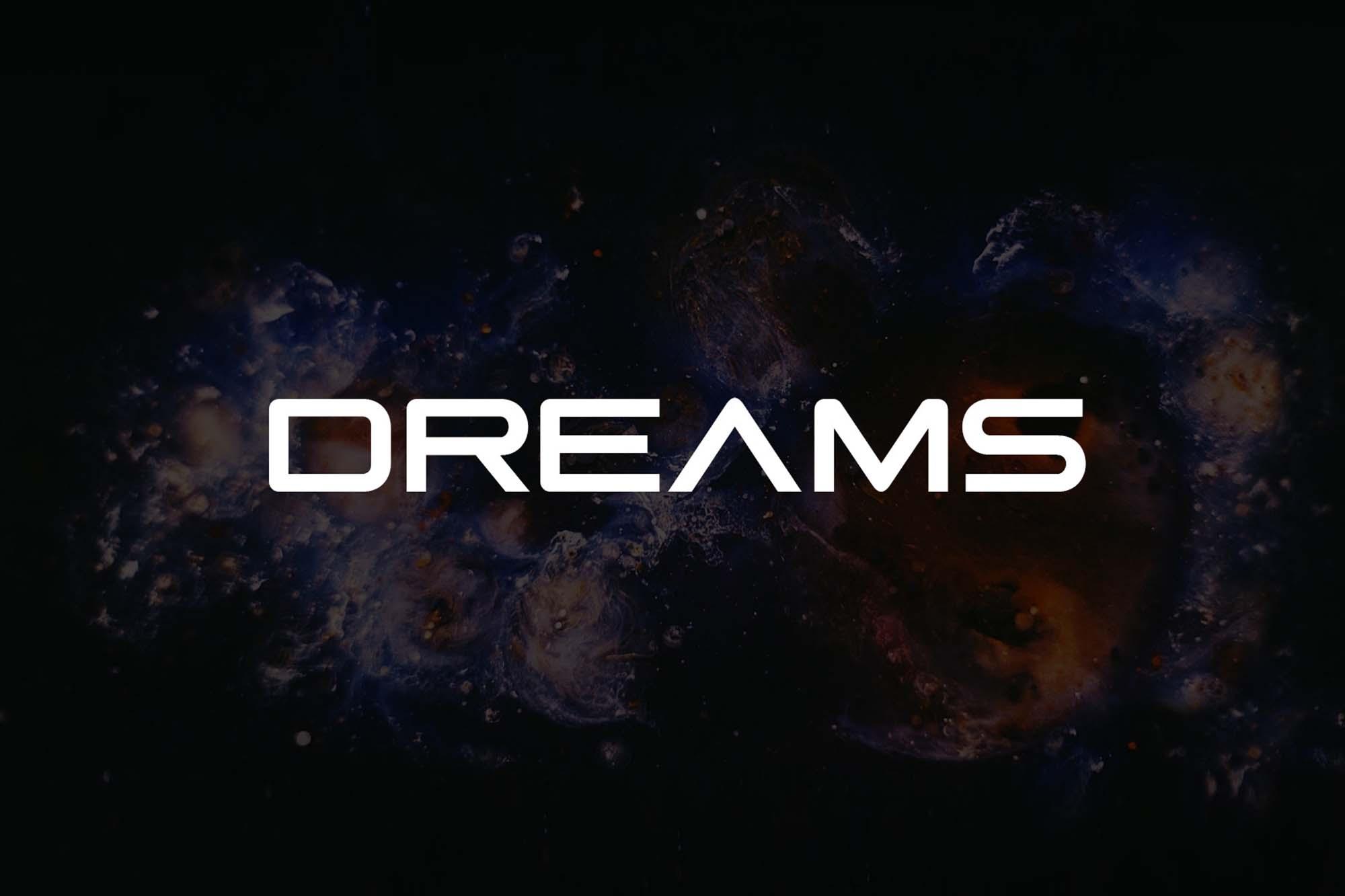 Dreams Typeface