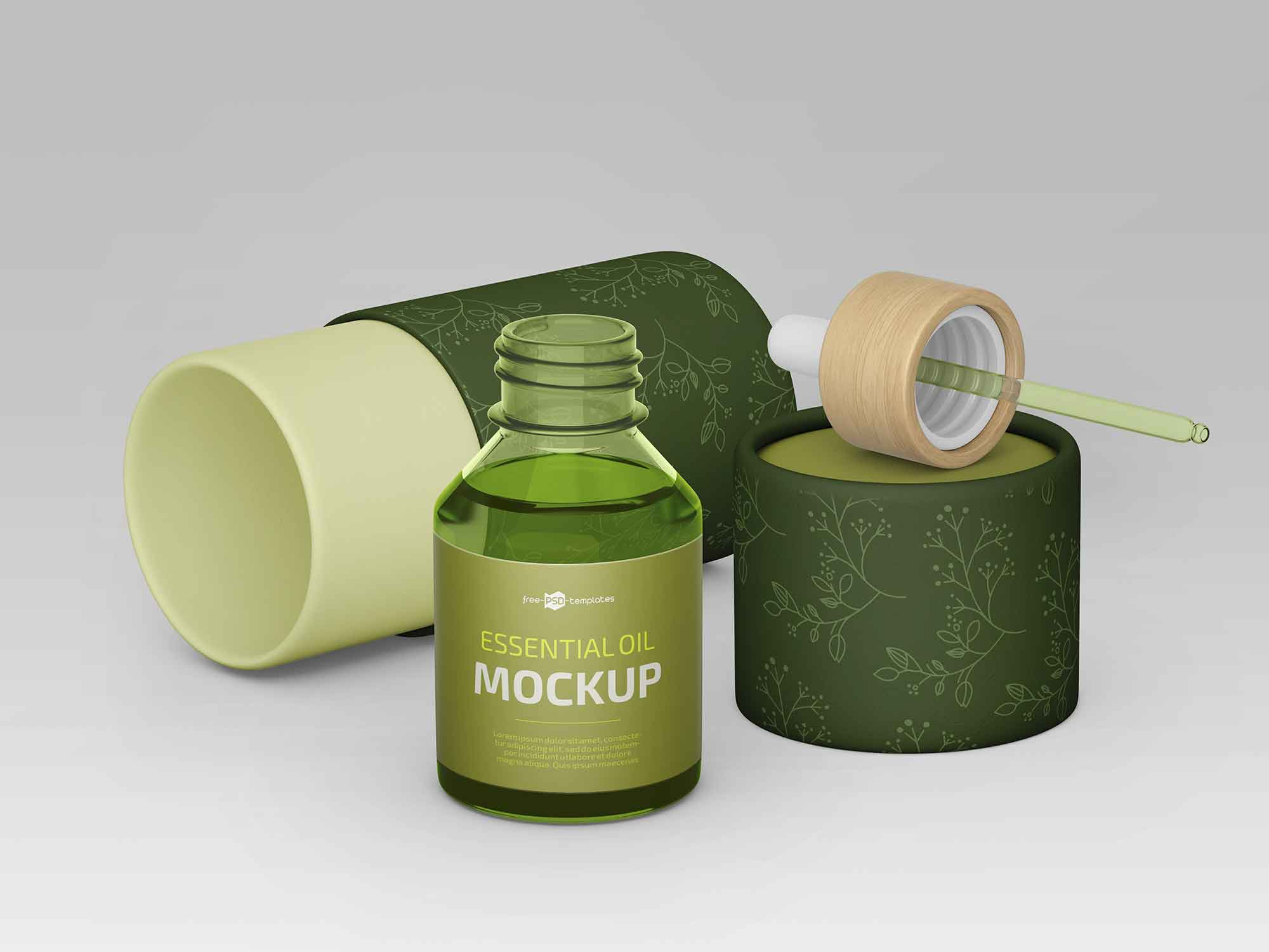Essential Oil Mockup 2