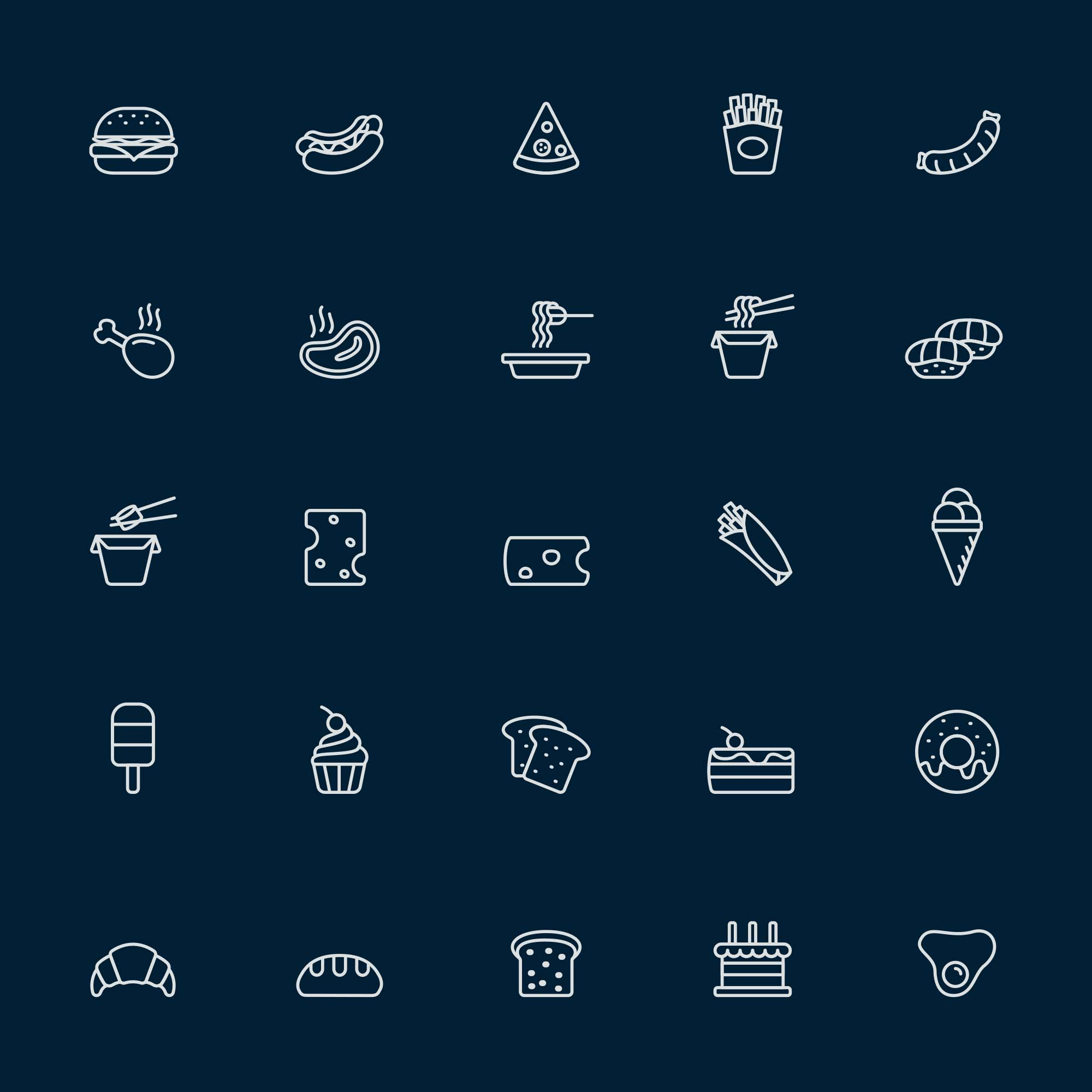 Food Vector Icons 2
