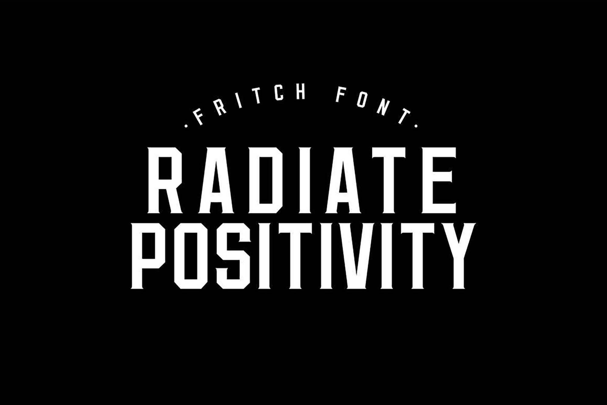 Fritch Typeface 4
