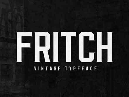Fritch Typeface