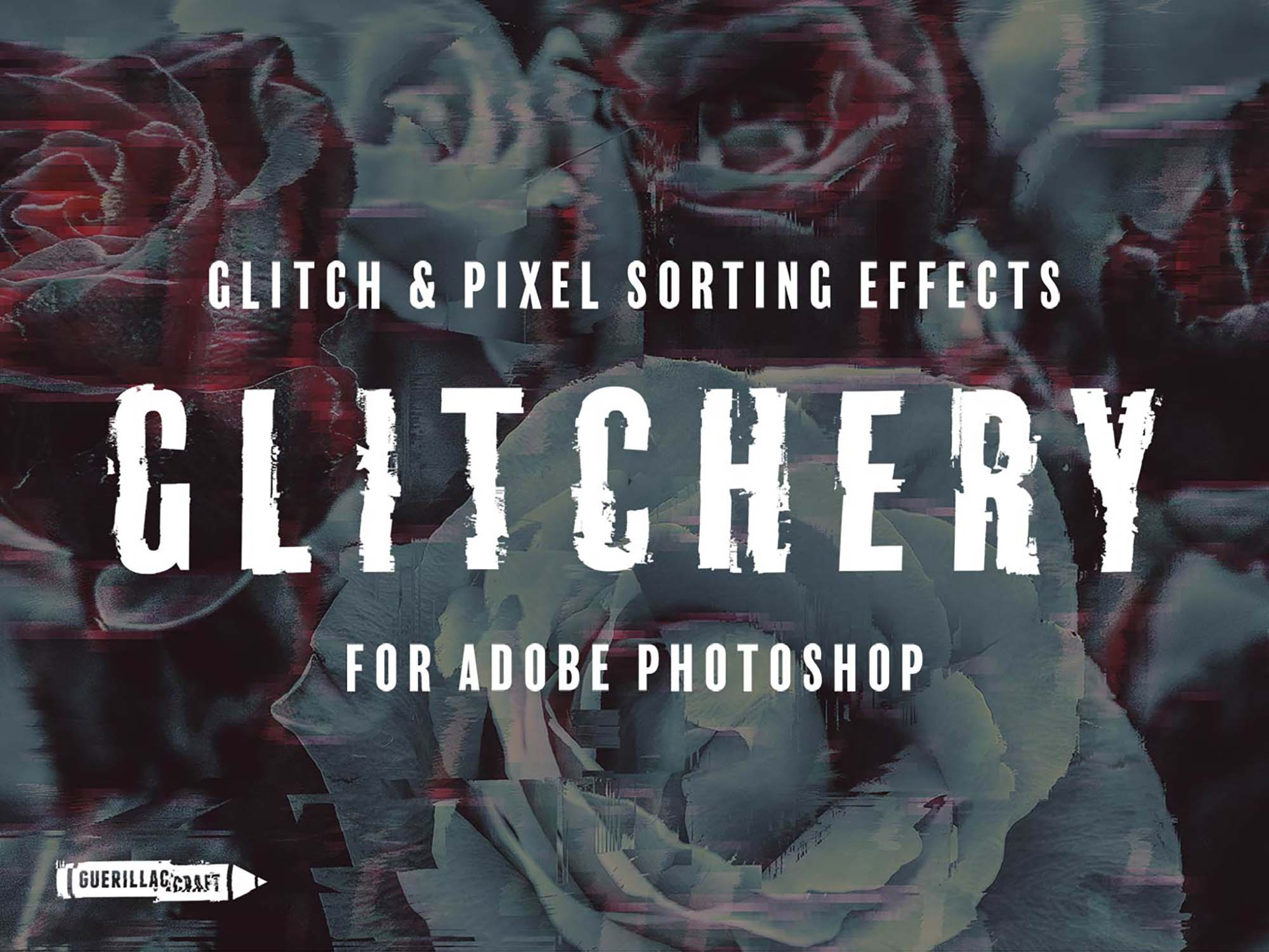Glitchy Photoshop Effect