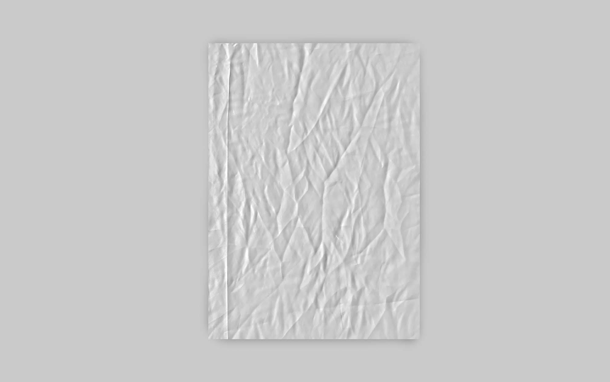 Grunge Wrinkle Posters Mockup 2
