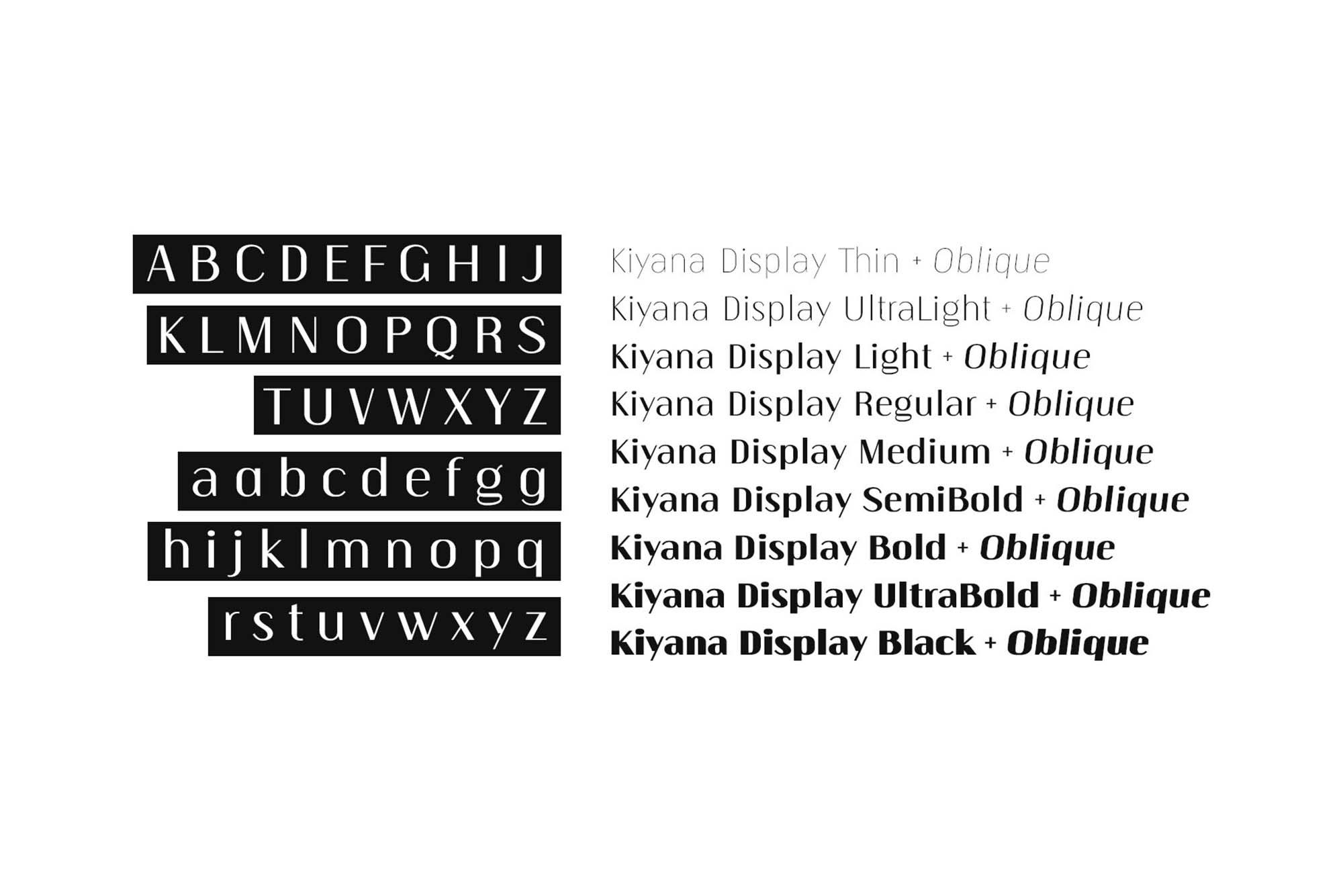Kiyana Sans Font Family 5