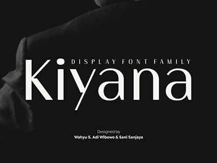 Kiyana Sans Font Family