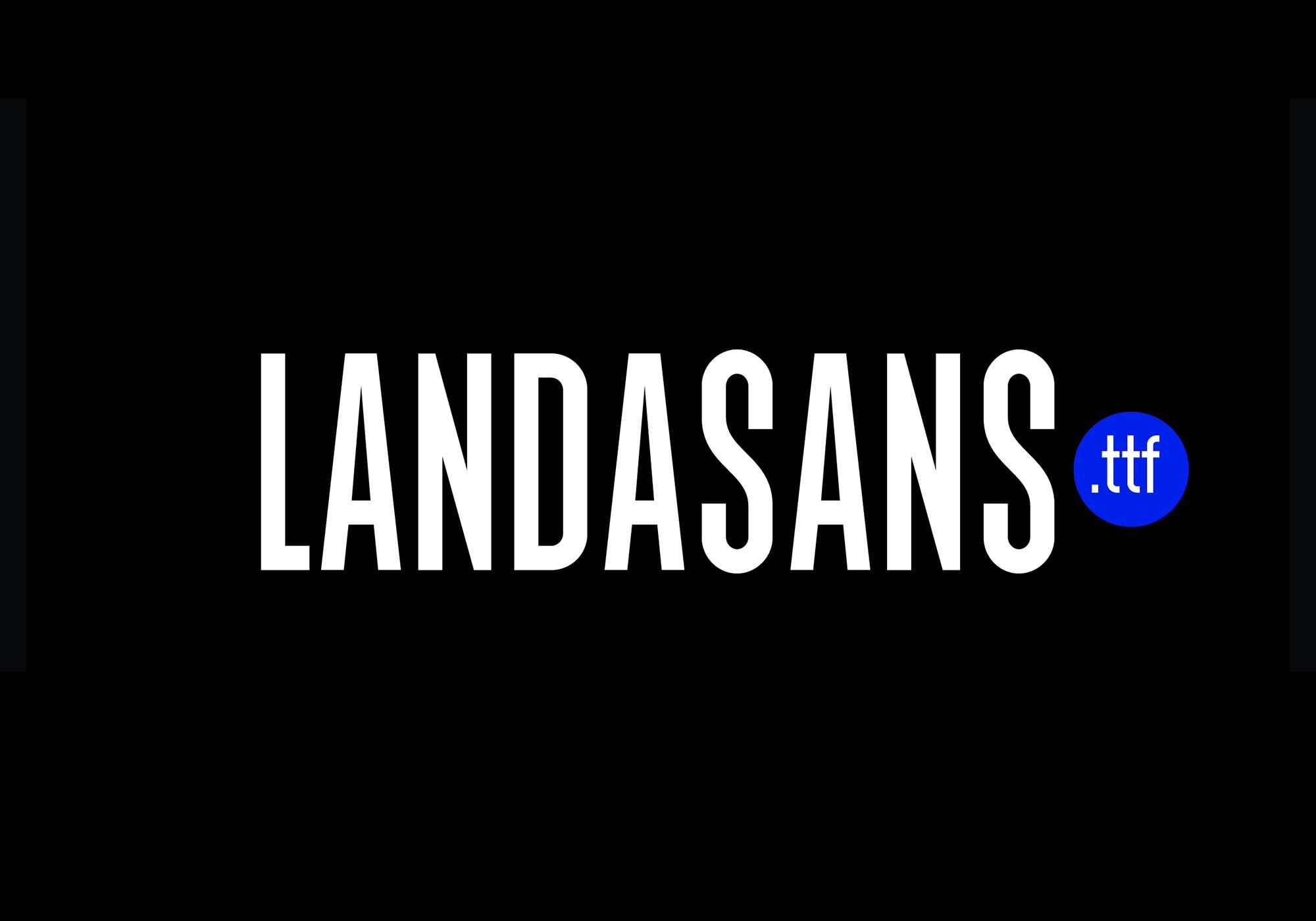Landasans Condensed Font