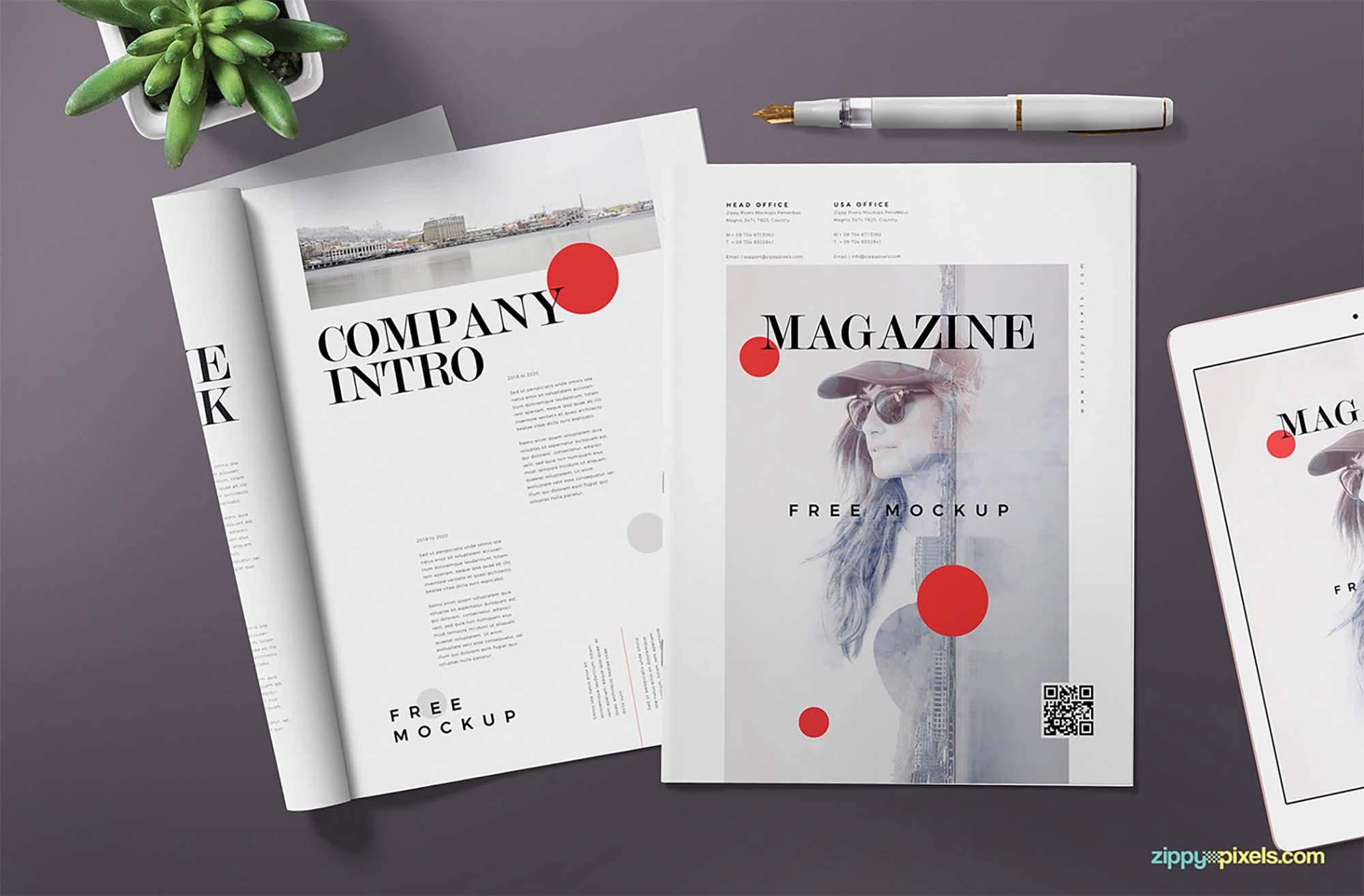 Magazine Ad Mockup 2