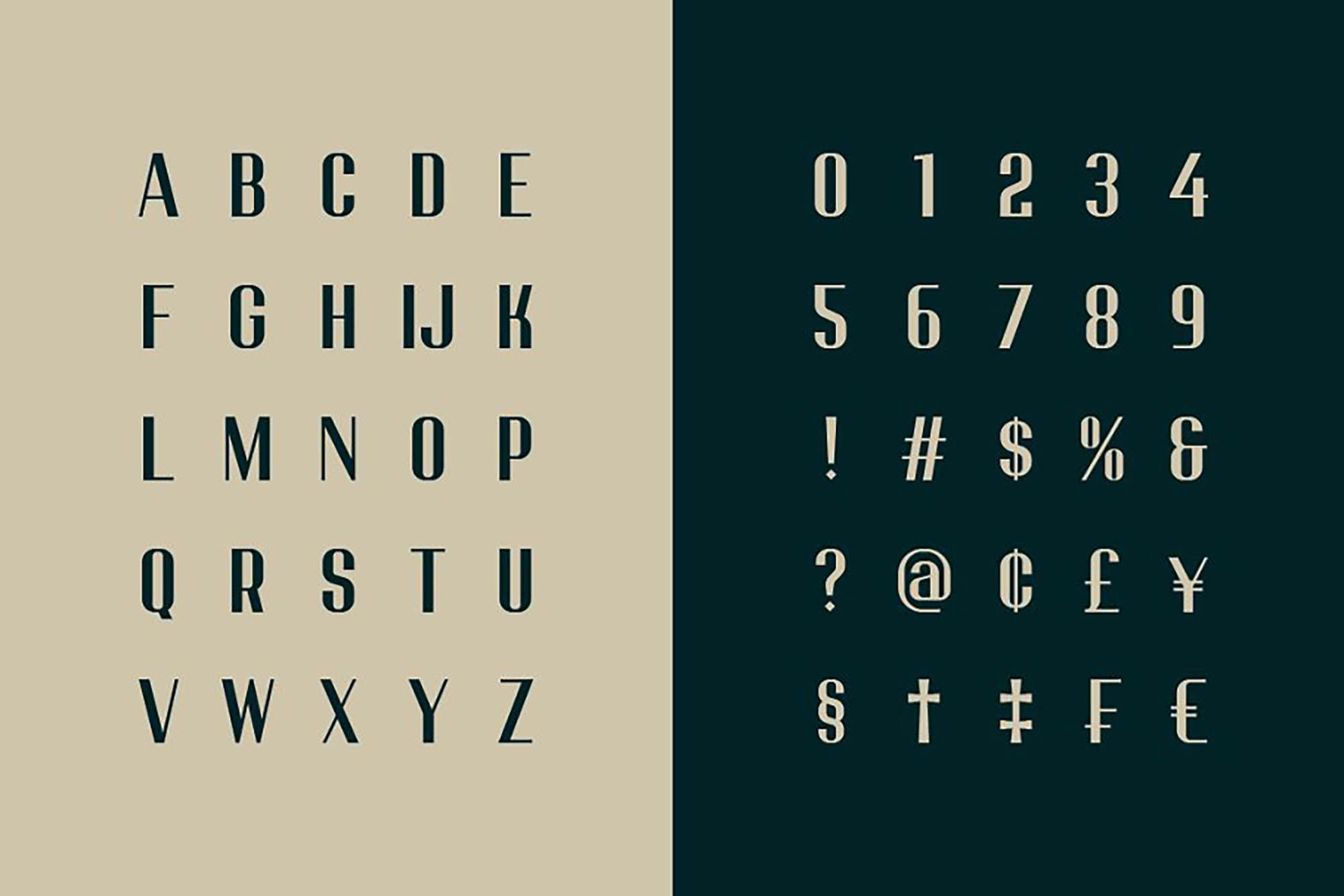 Mason Typeface 2