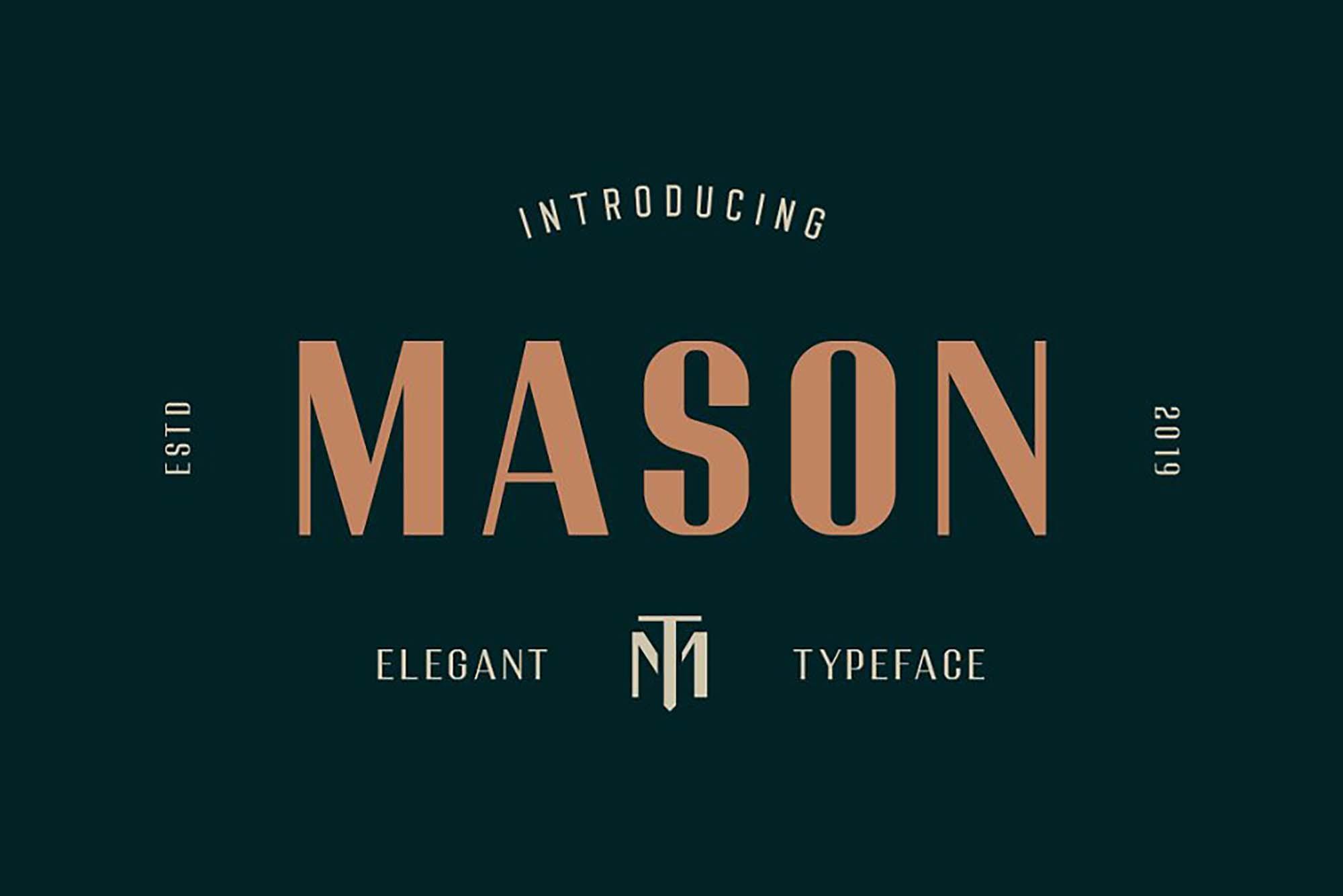 Mason Typeface