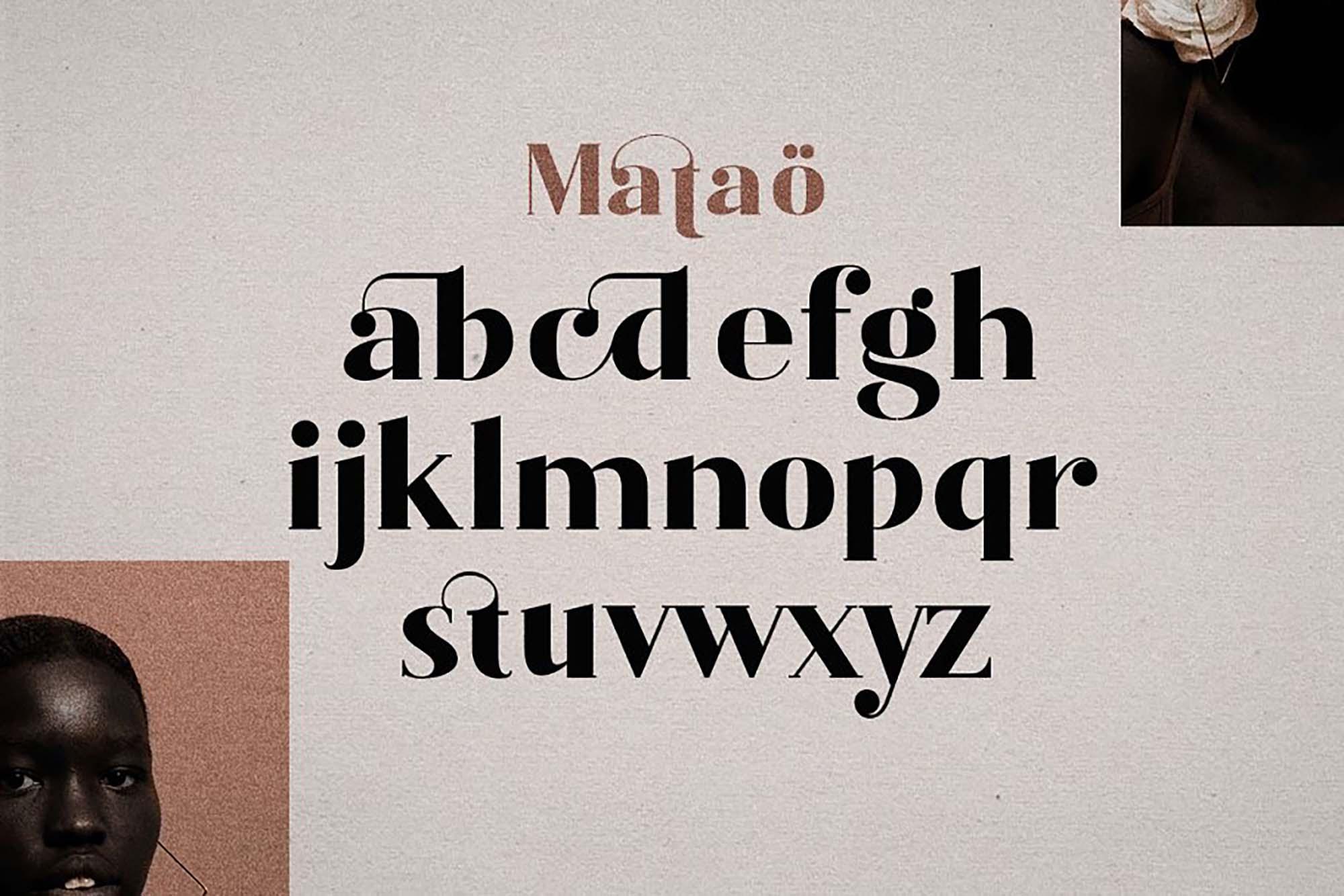 Mataö Elegant Serif Font 4