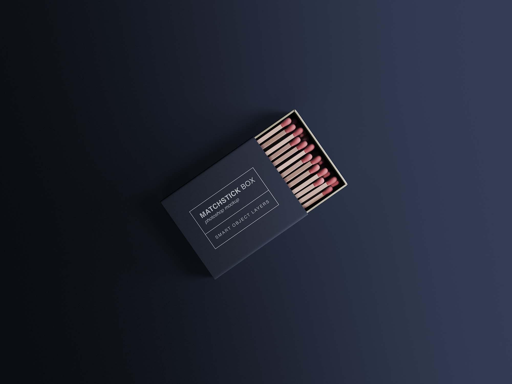 Matchstick Box Mockup 2