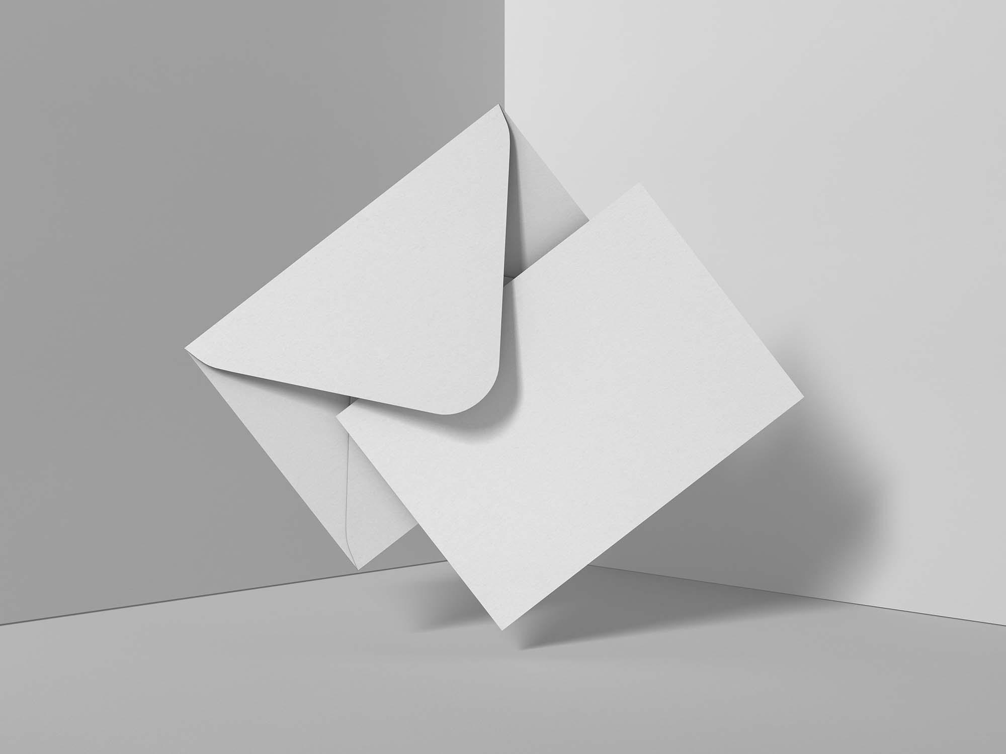 Modern Greeting Card Mockup 2