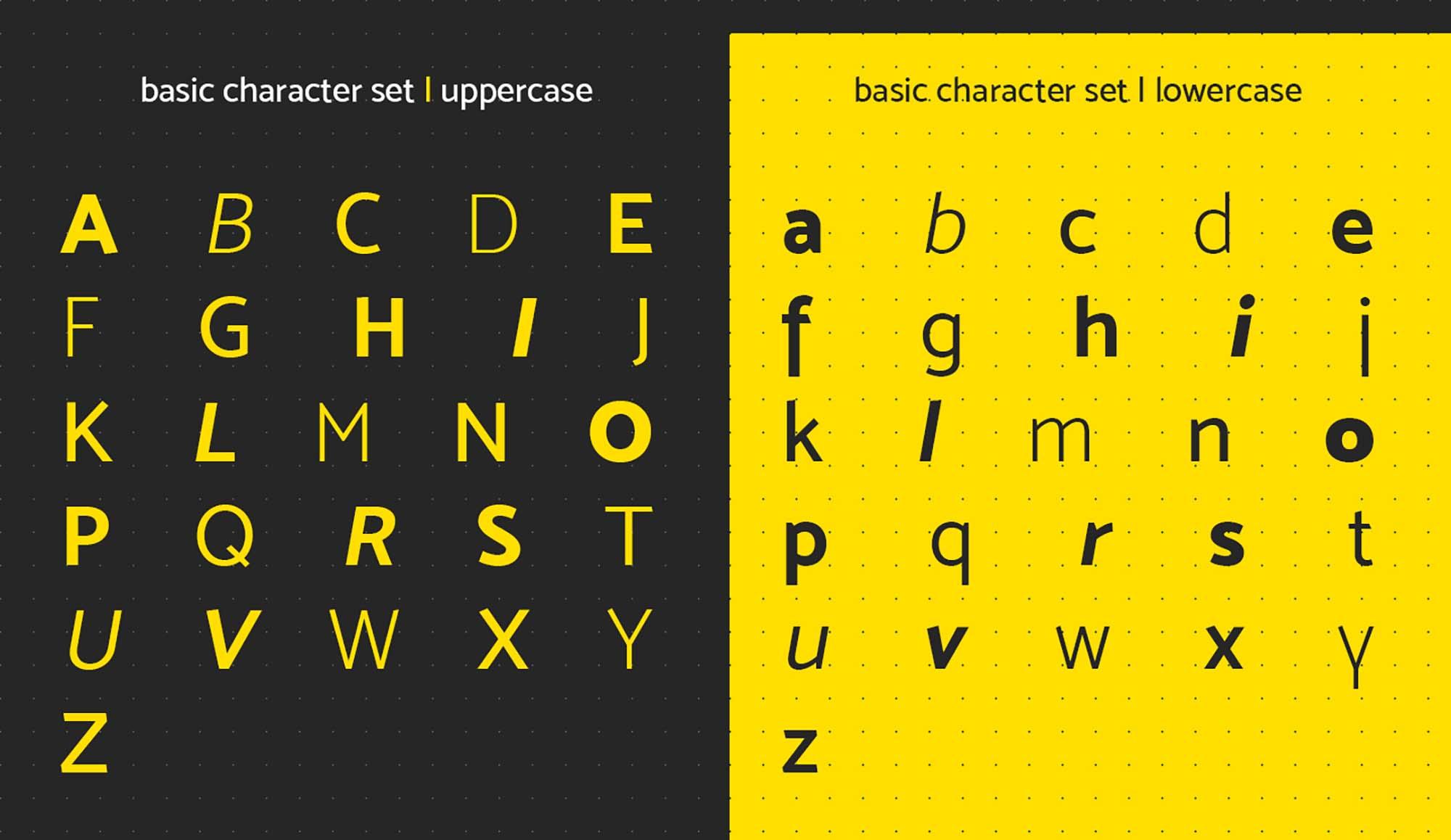 Mosk Sans Serif Typeface 2