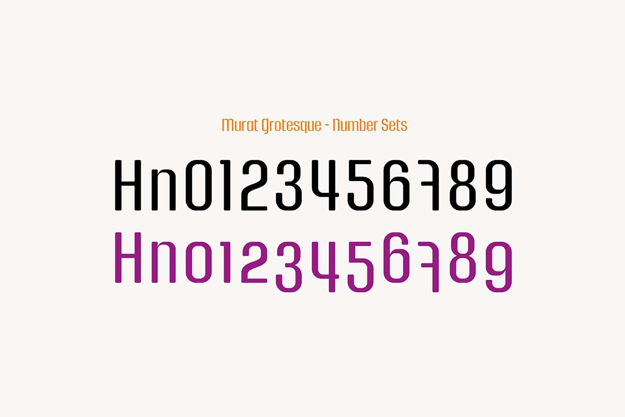 Murat Grotesque Font 4