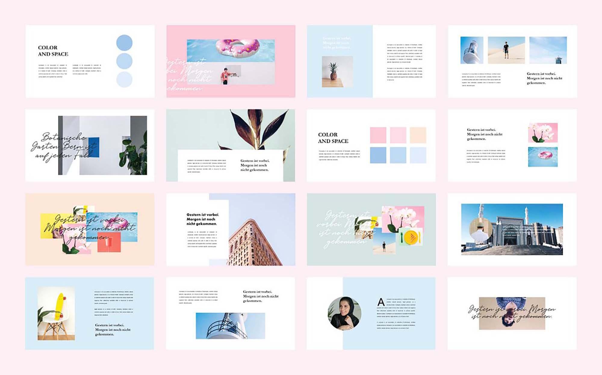 Peet Minimalist PowerPoint Template 5