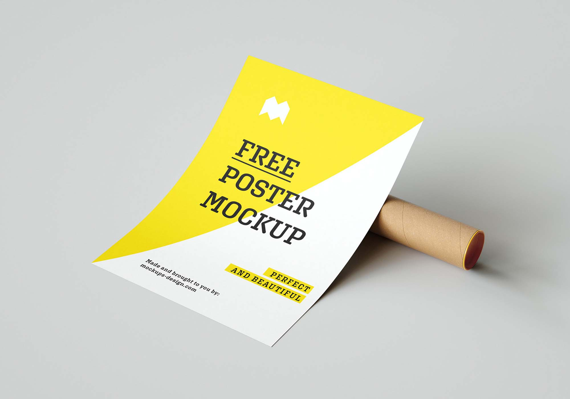 Paper Poster Mockup 2
