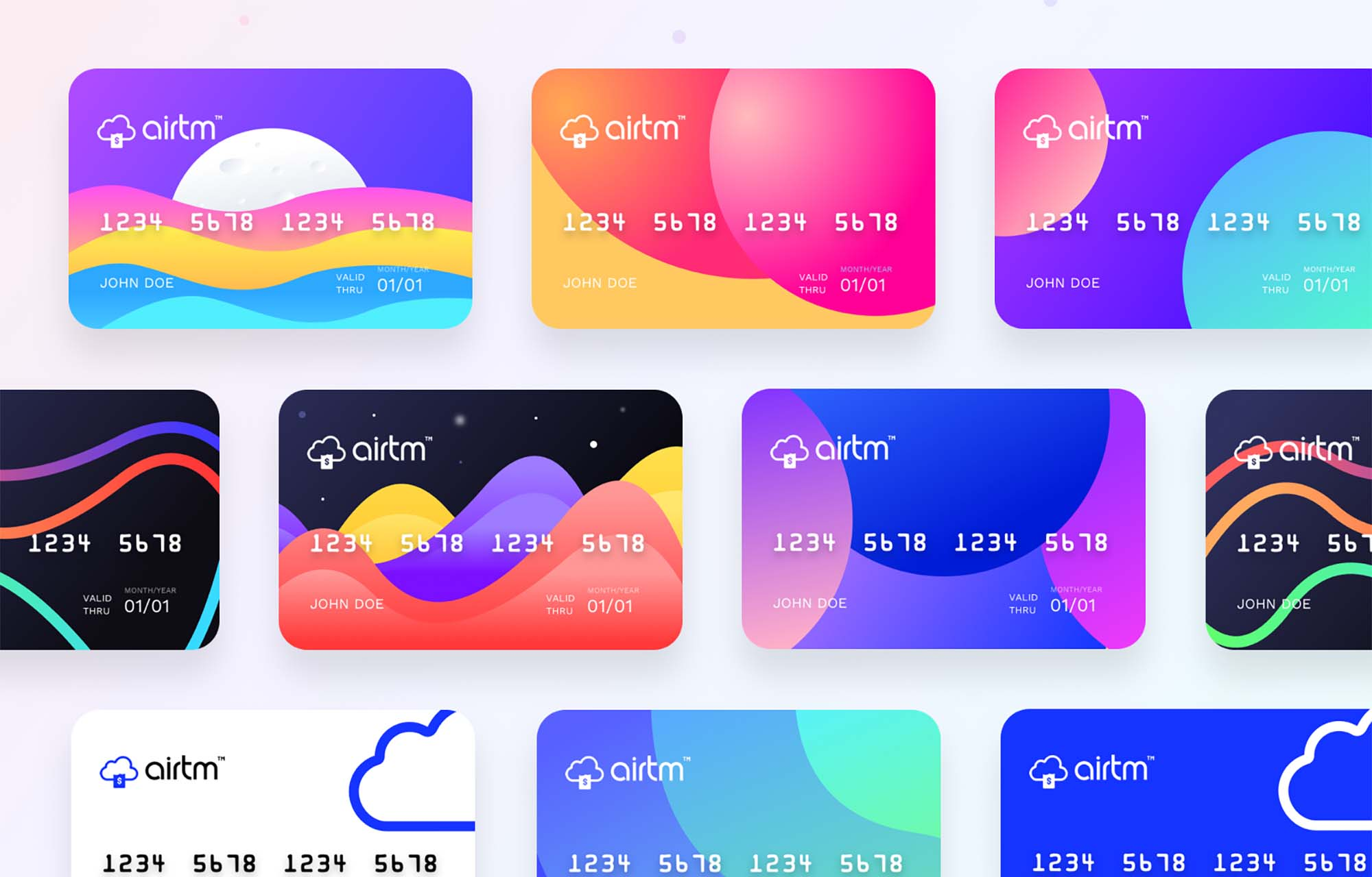 Prepaid Card Design Templates 2