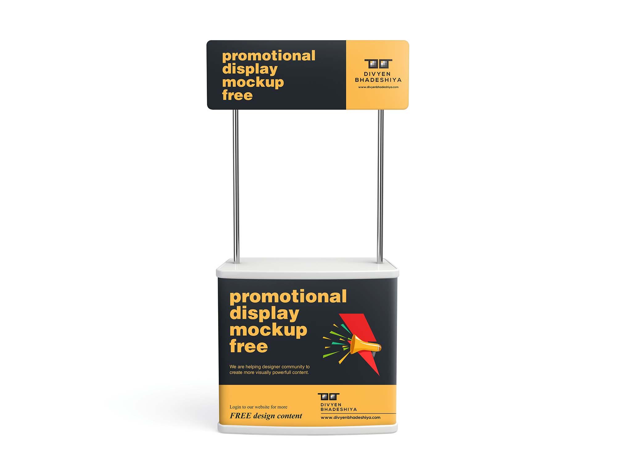 Promotional Display Mockup