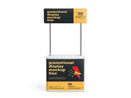 Promotional Display Mockup