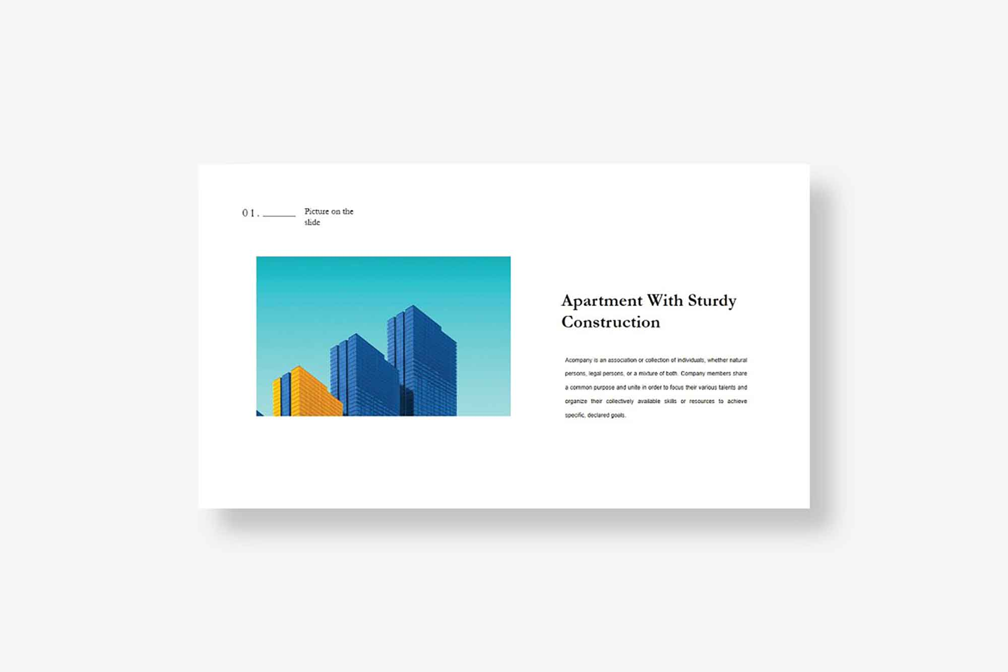 Quil Architecture PowerPoint Template 3
