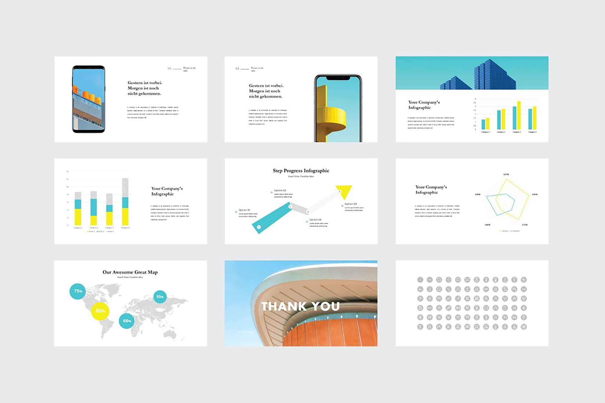 Quil Architecture PowerPoint Template 5