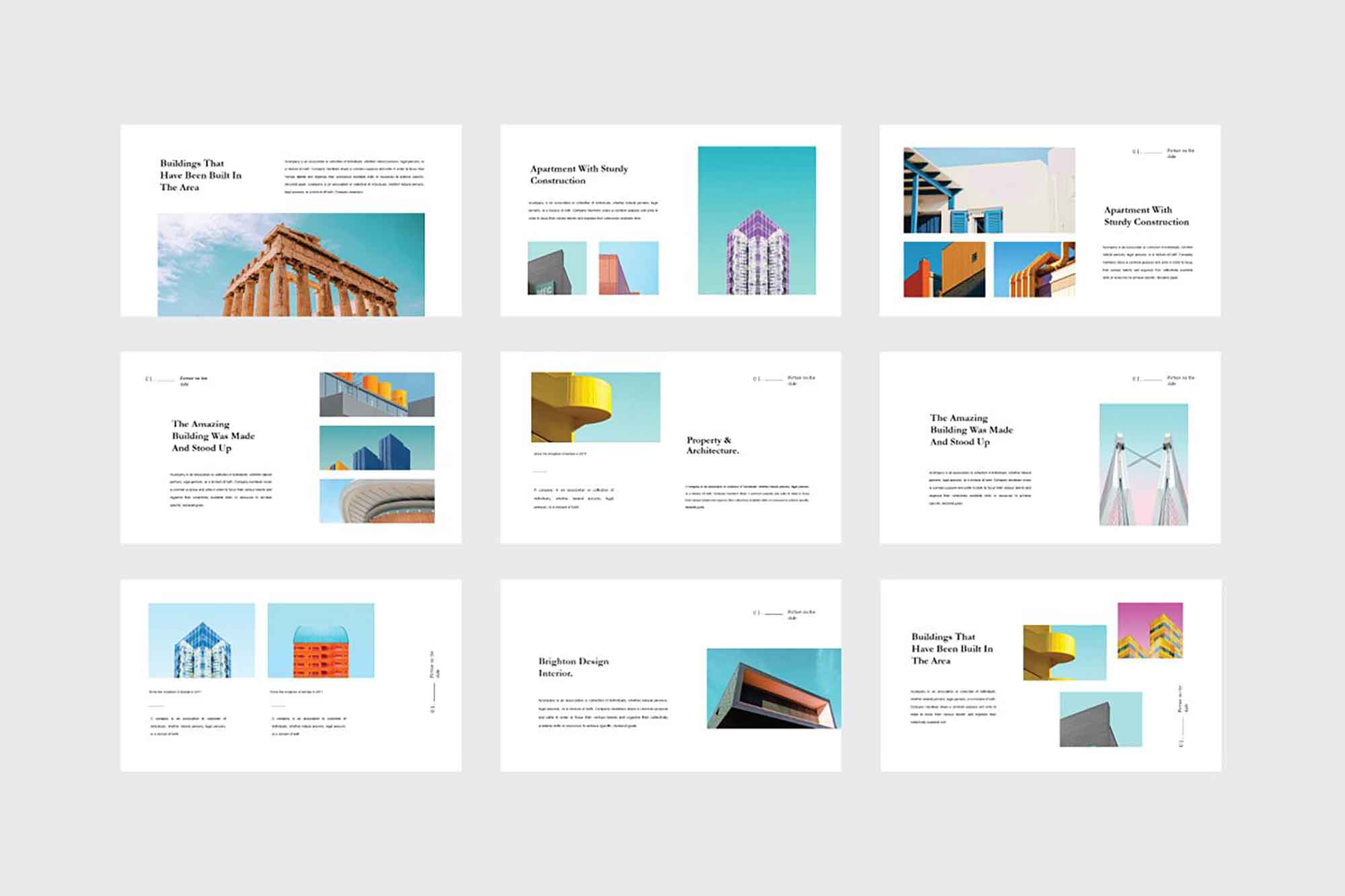 Quil Architecture PowerPoint Template 7